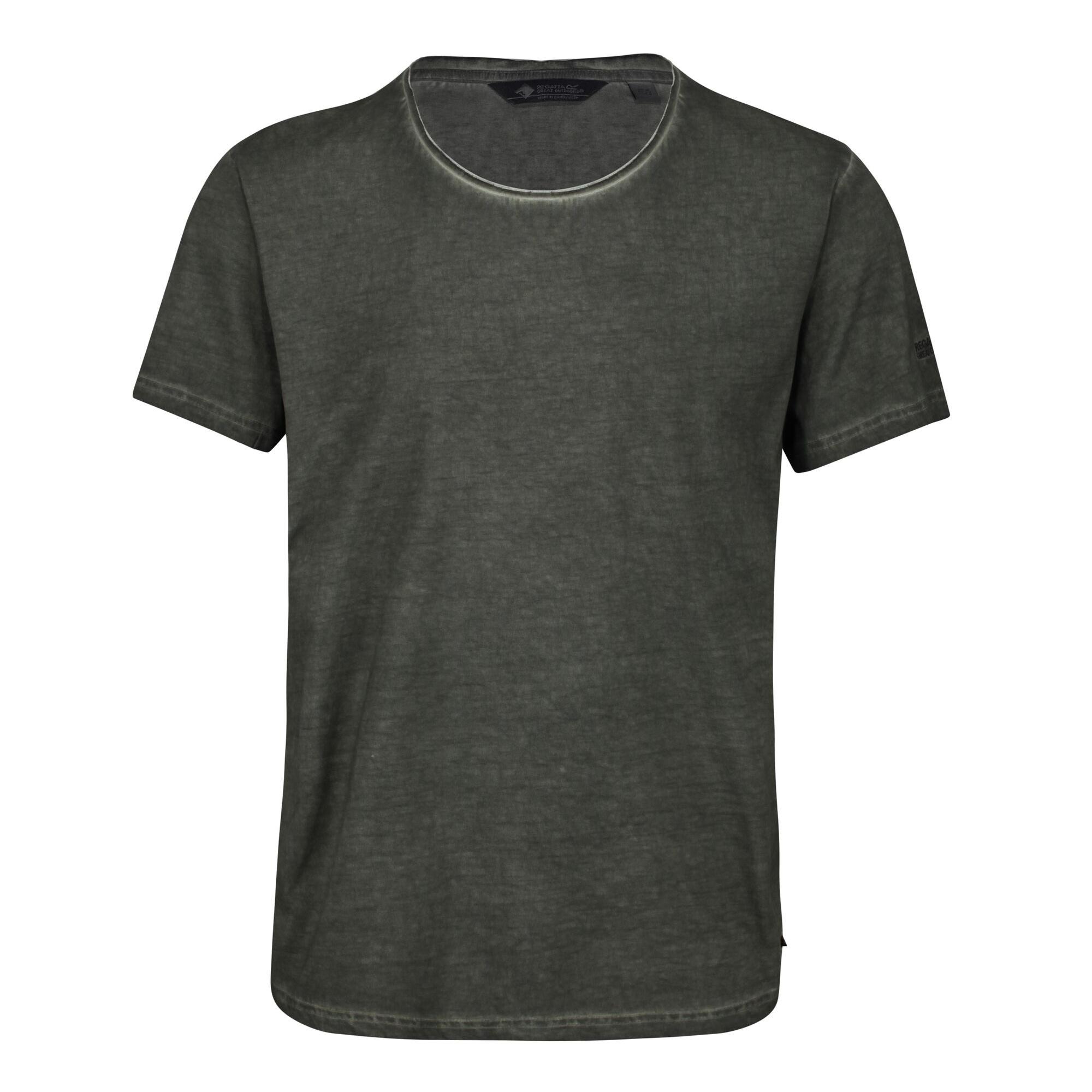 Regatta Mens Calmon T-Shirt (XL) (Dark Khaki)