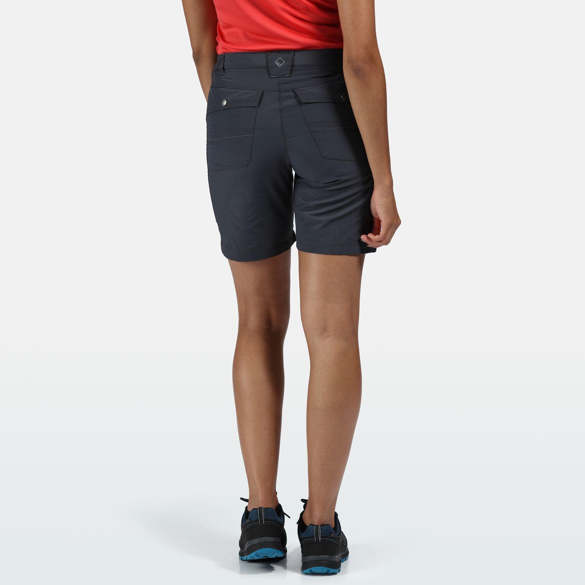 Regatta Womens/Ladies Chaska II Walking Shorts (14 UK) (Turquoise)