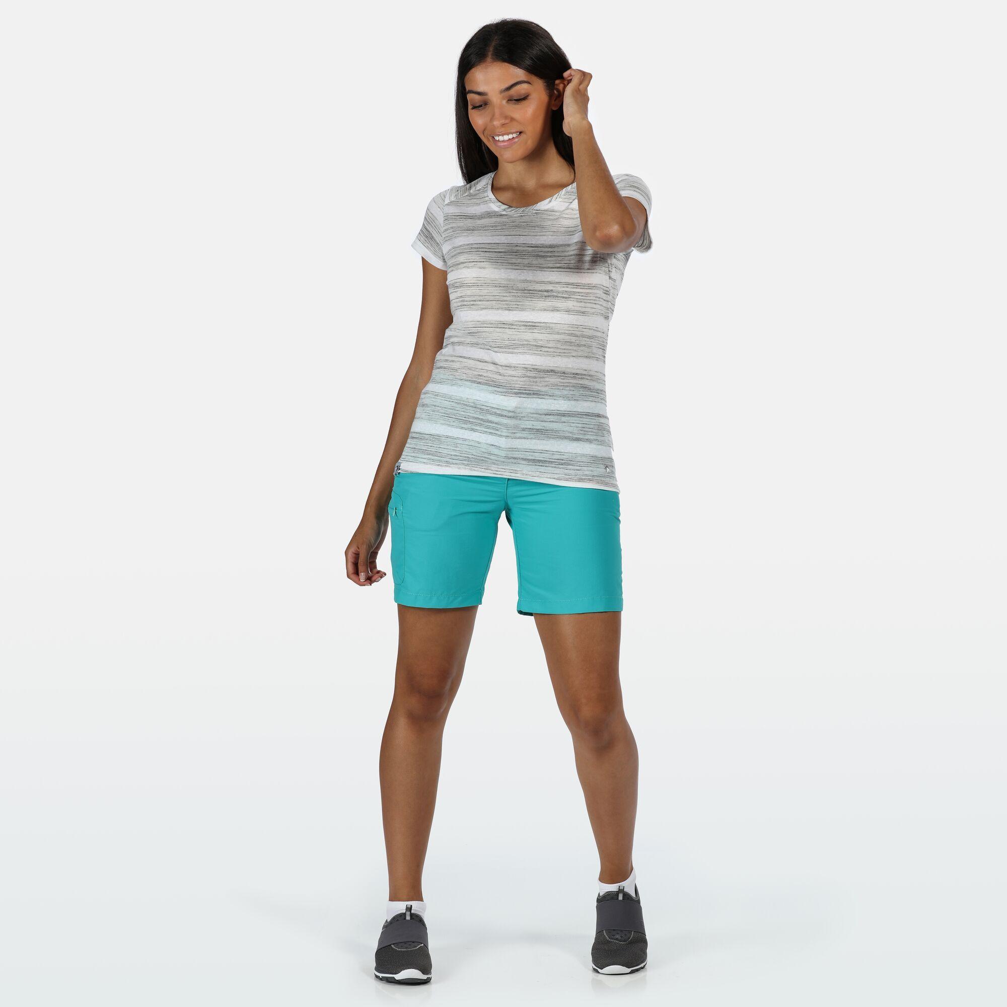 Regatta Womens/Ladies Chaska II Walking Shorts (14 UK) (Dark Cerise)