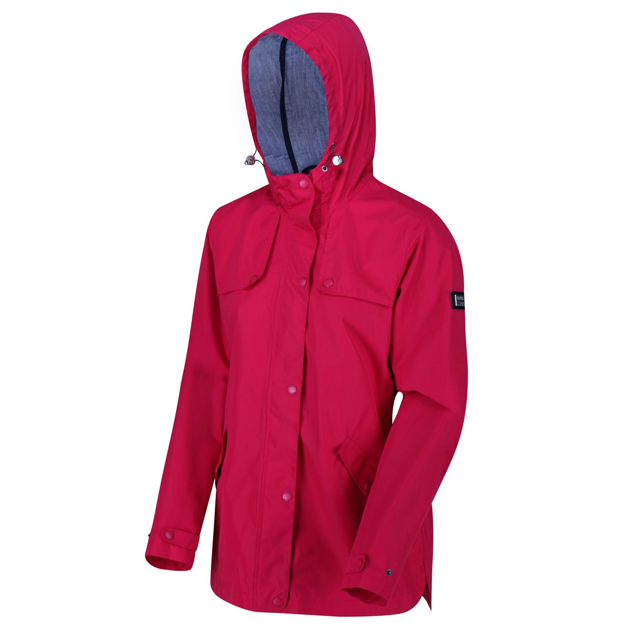 Regatta Womens/Ladies Bertille Waterproof Jacket (16 UK) (Virtual Pink)