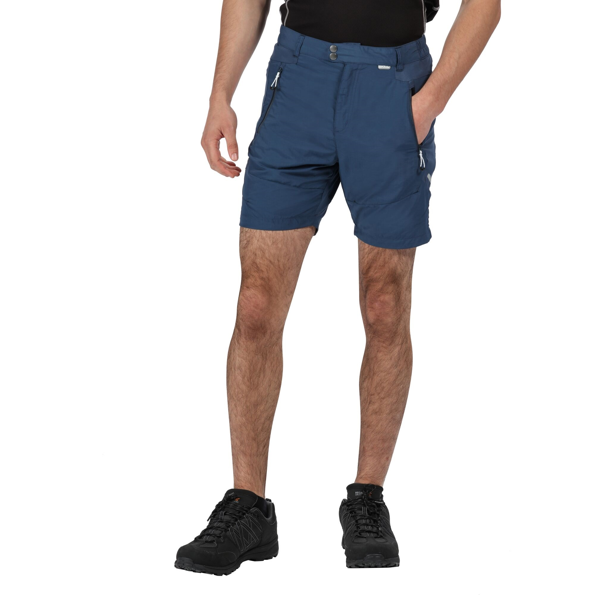 Regatta Mens Sungari II Walking Shorts (42in) (Dark Denim)