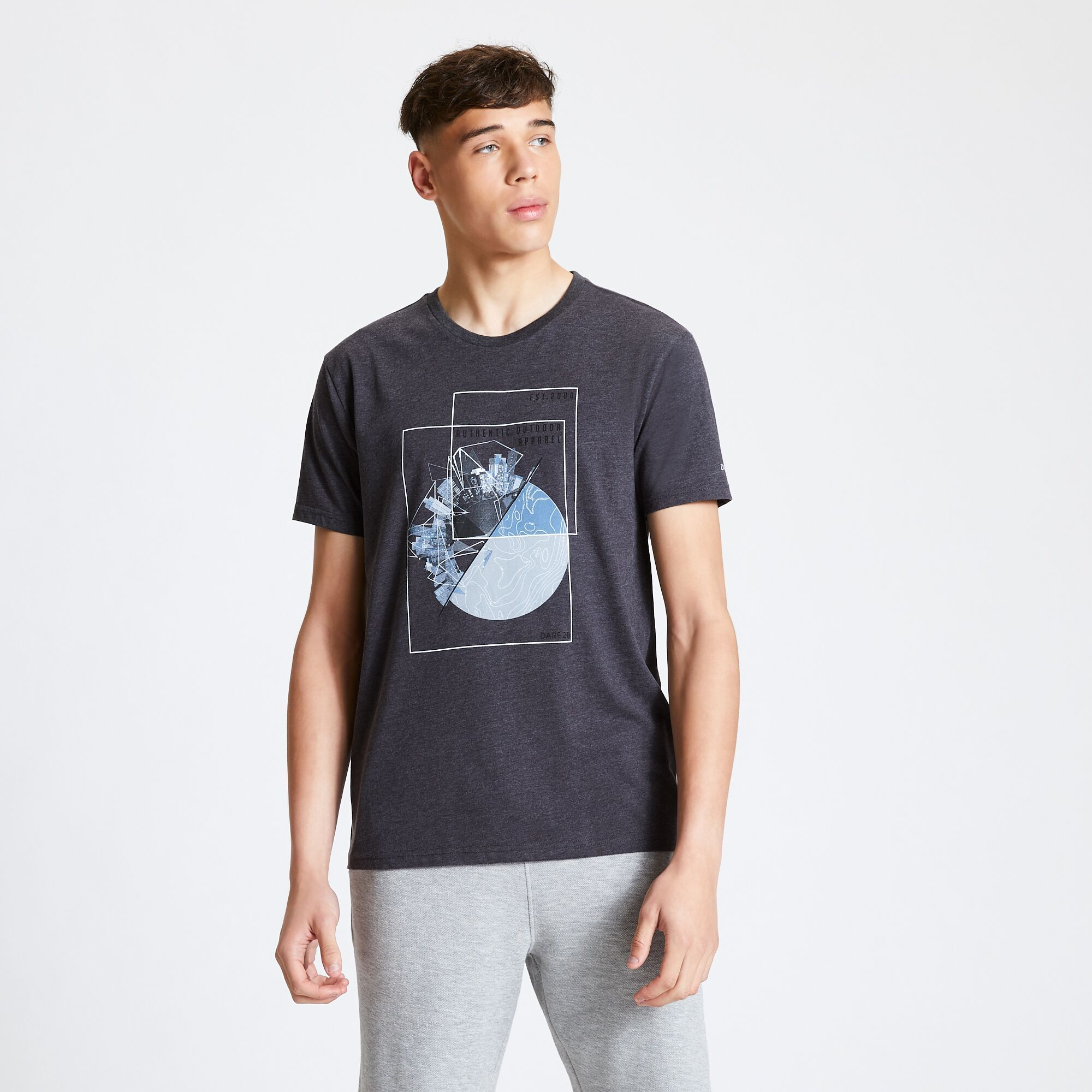 miniature 16 - Dare 2B - T-shirt imprimé STRINGENT - Homme (RG5022)
