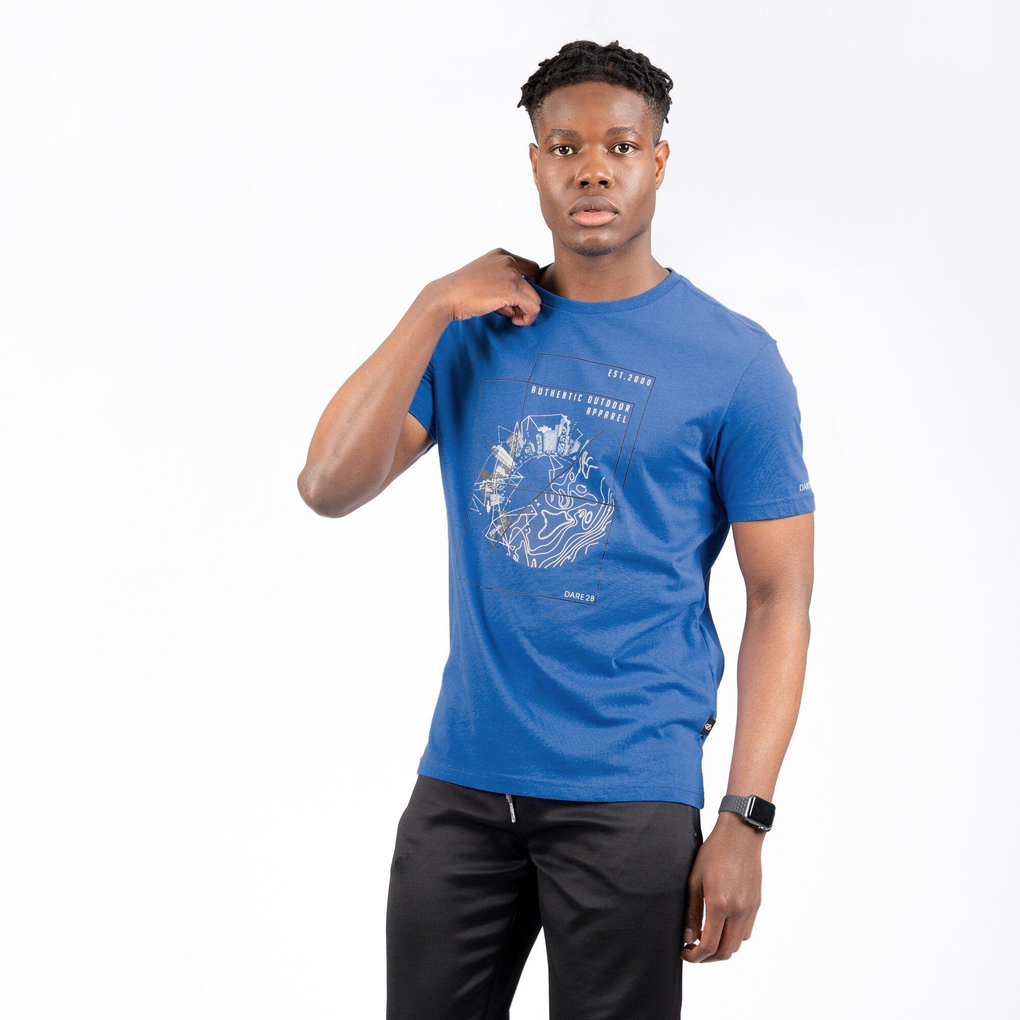 miniature 6 - Dare 2B - T-shirt imprimé STRINGENT - Homme (RG5022)