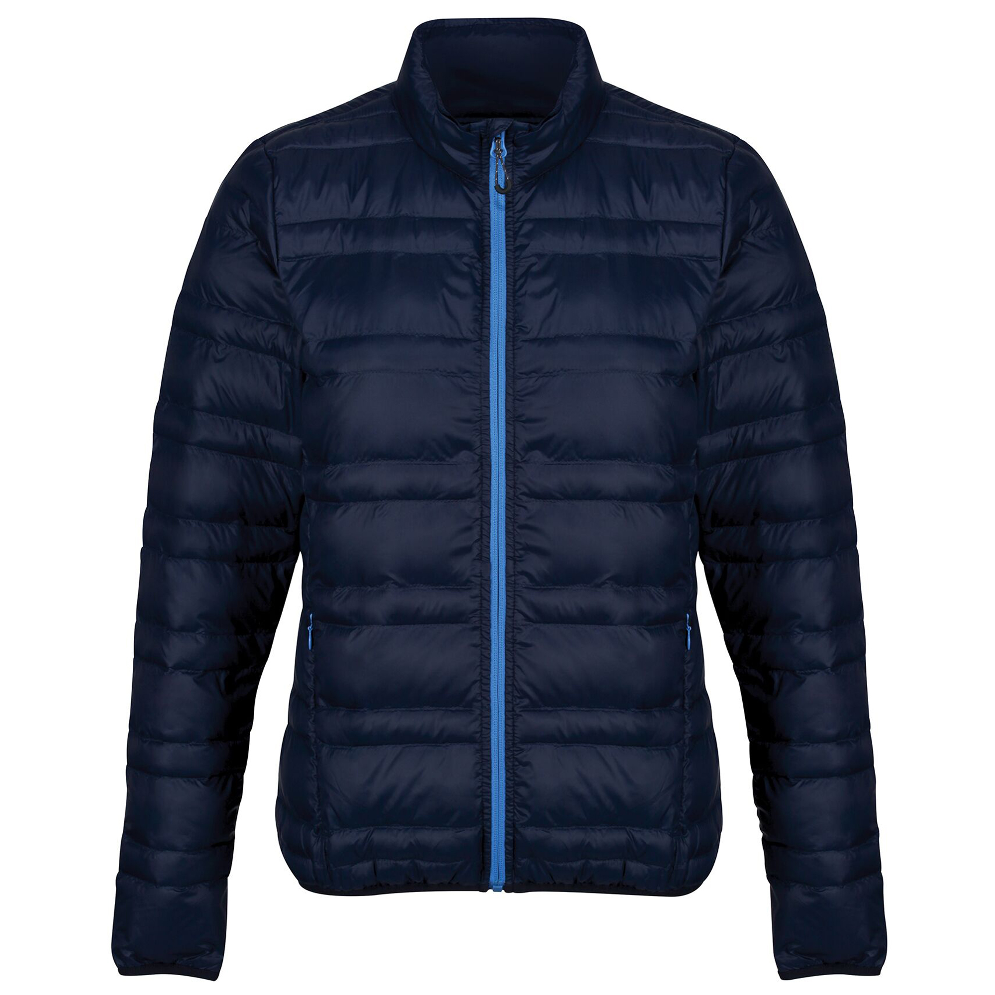 Regatta Womens/Ladies Firedown Baffled Quilted Jacket (16 UK) (Navy/French Blue)