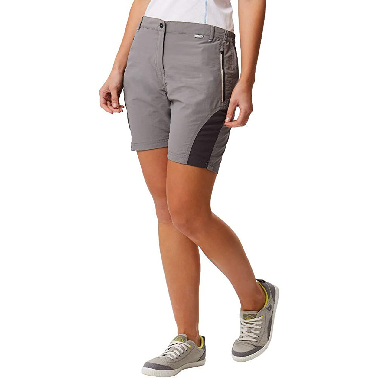 Regatta Womens/Ladies Sungari II Walking Shorts (16 UK) (Neon Pink/Dark Cerise)