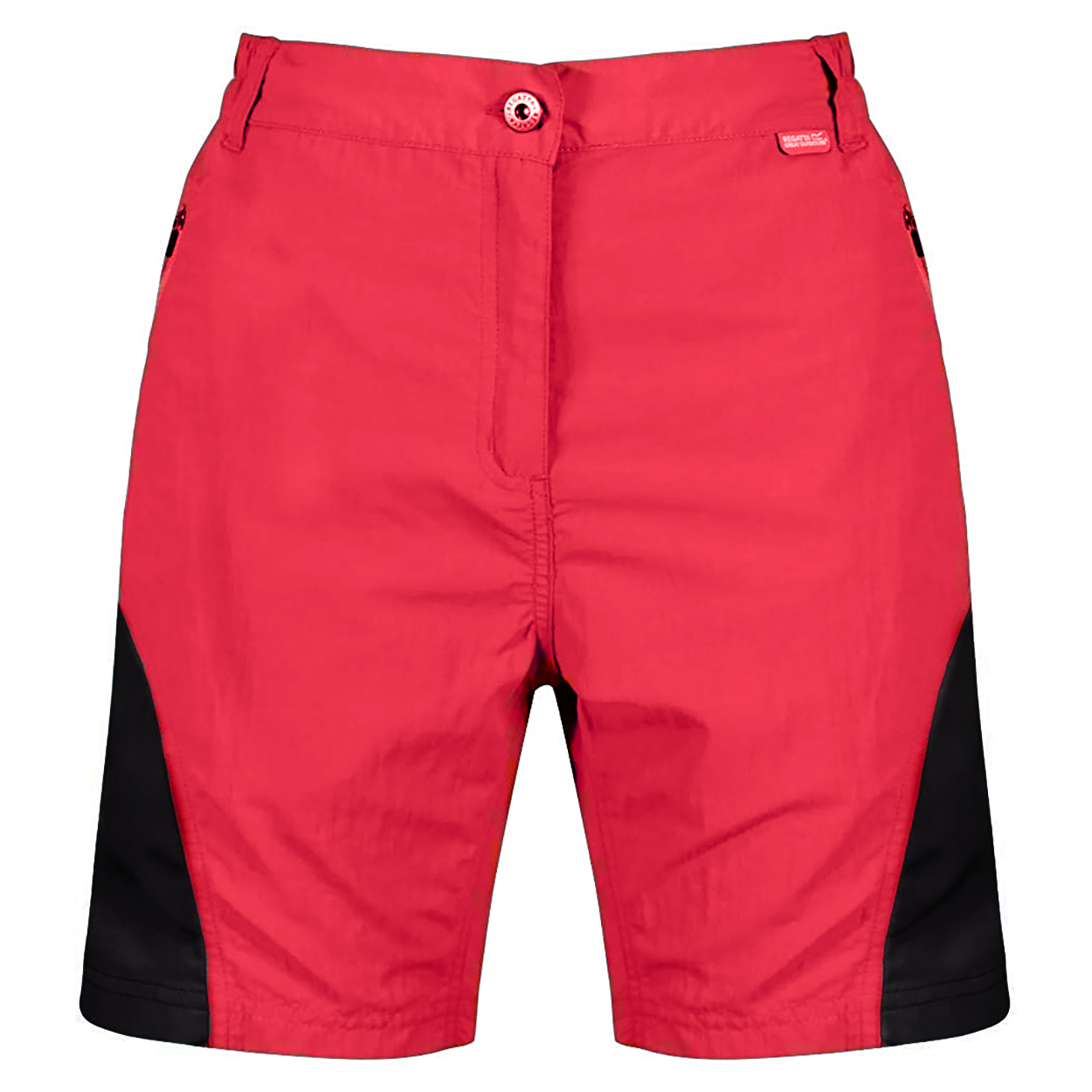 Regatta Womens/Ladies Sungari II Walking Shorts (18 UK) (Red Sky/Seal Grey)