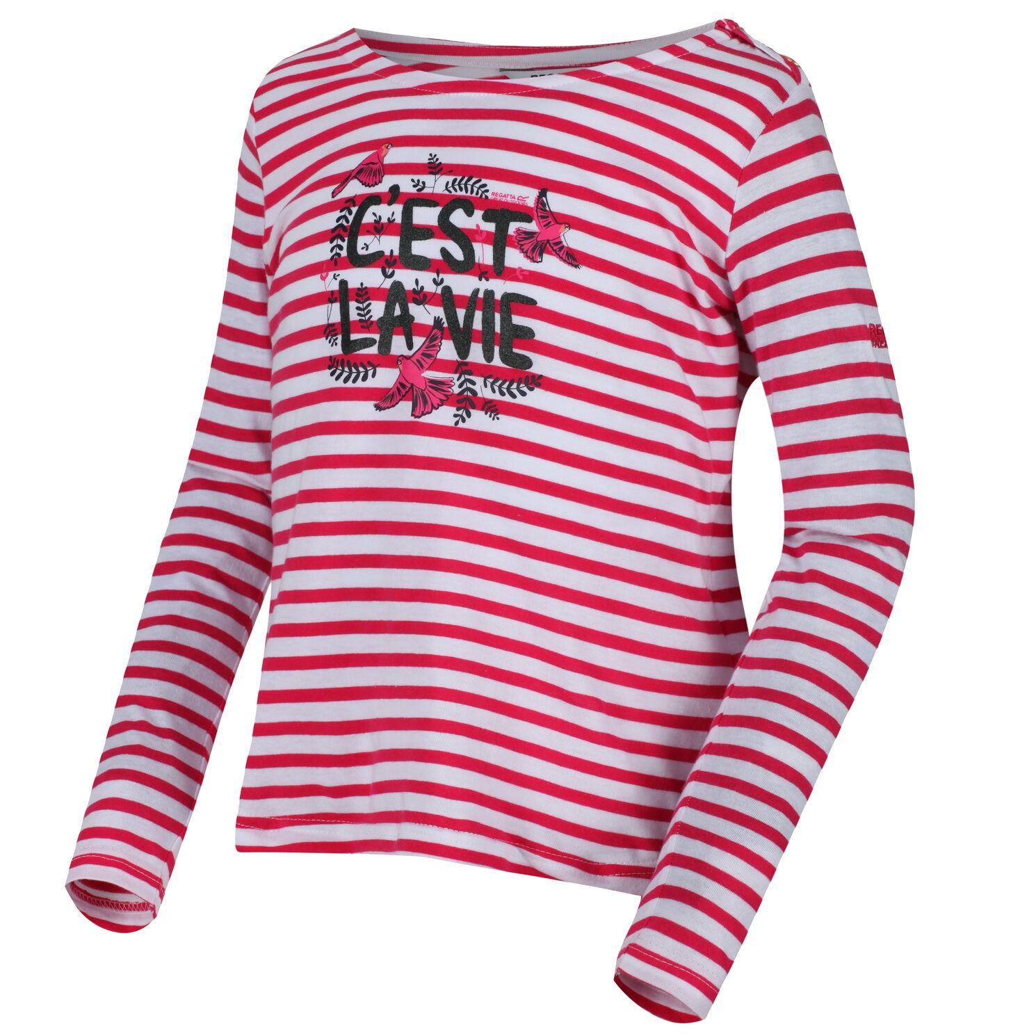 RG2777 Regatta Thunderbirds Childrens//Kids Official Peril Long Sleeved T-Shirt