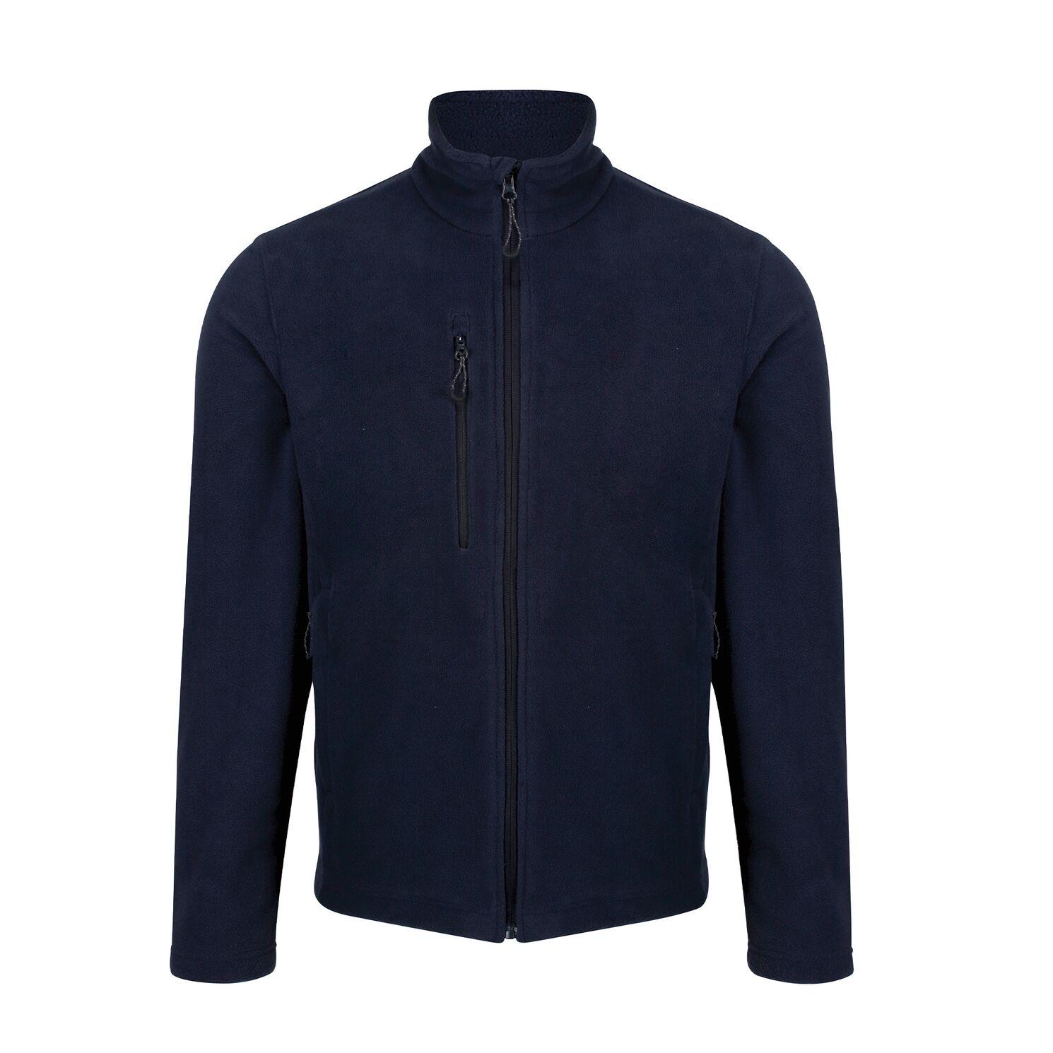 Regatta Mens Honesty Made Recycled Fleece Jacket (S) (Navy)