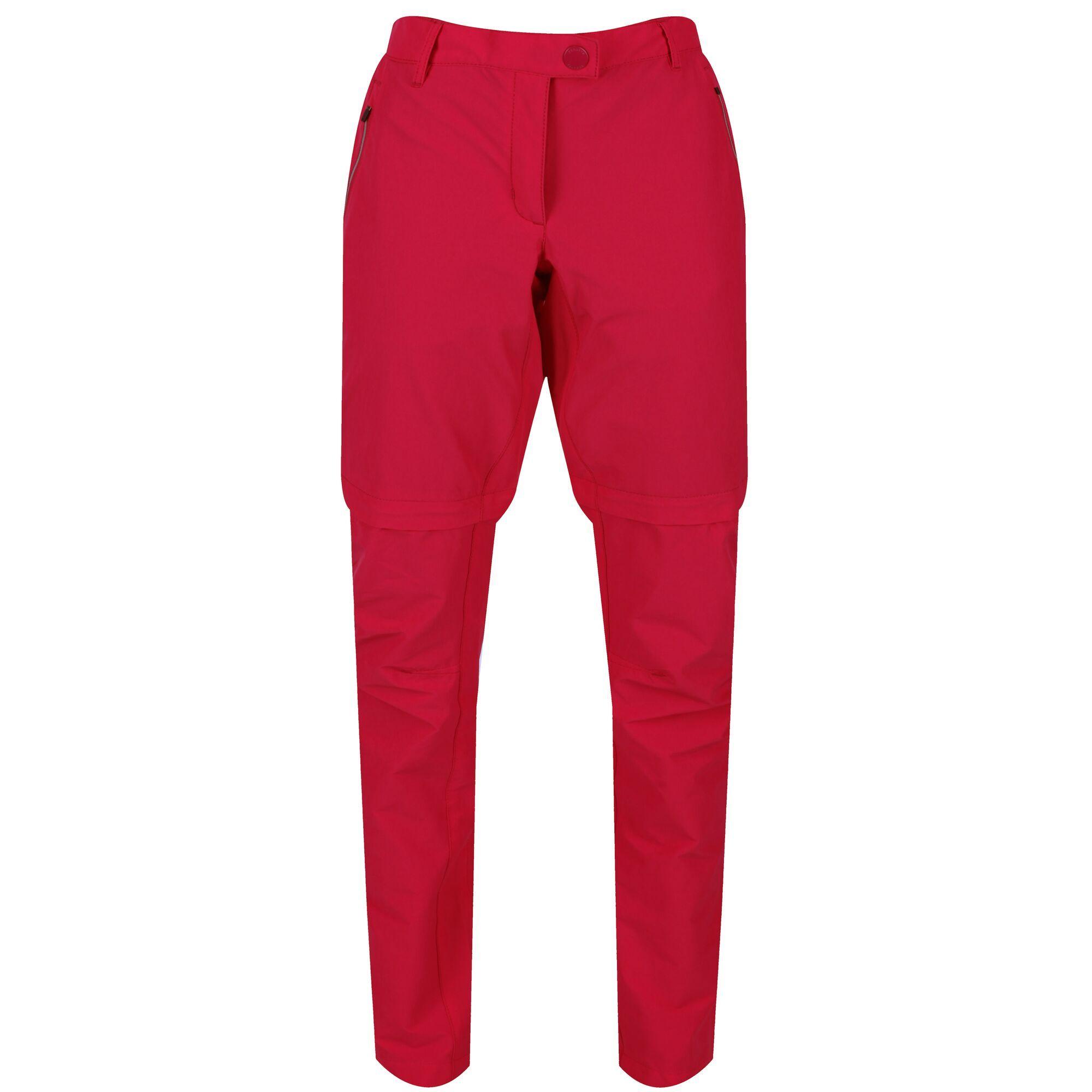 Regatta Womens/Ladies Highton Walking Trousers (12L) (Dark Cerise)