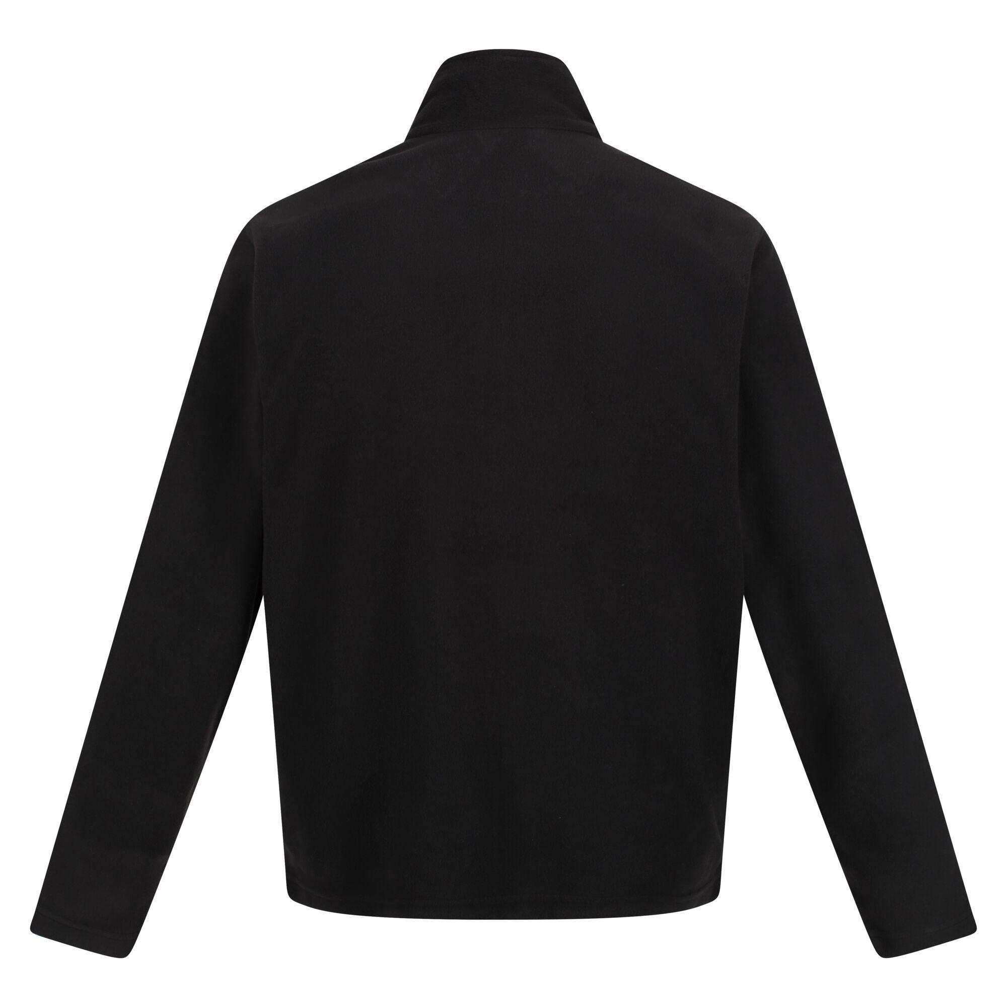 Regatta Mens Classic Microfleece Jacket (3XL) (Black)