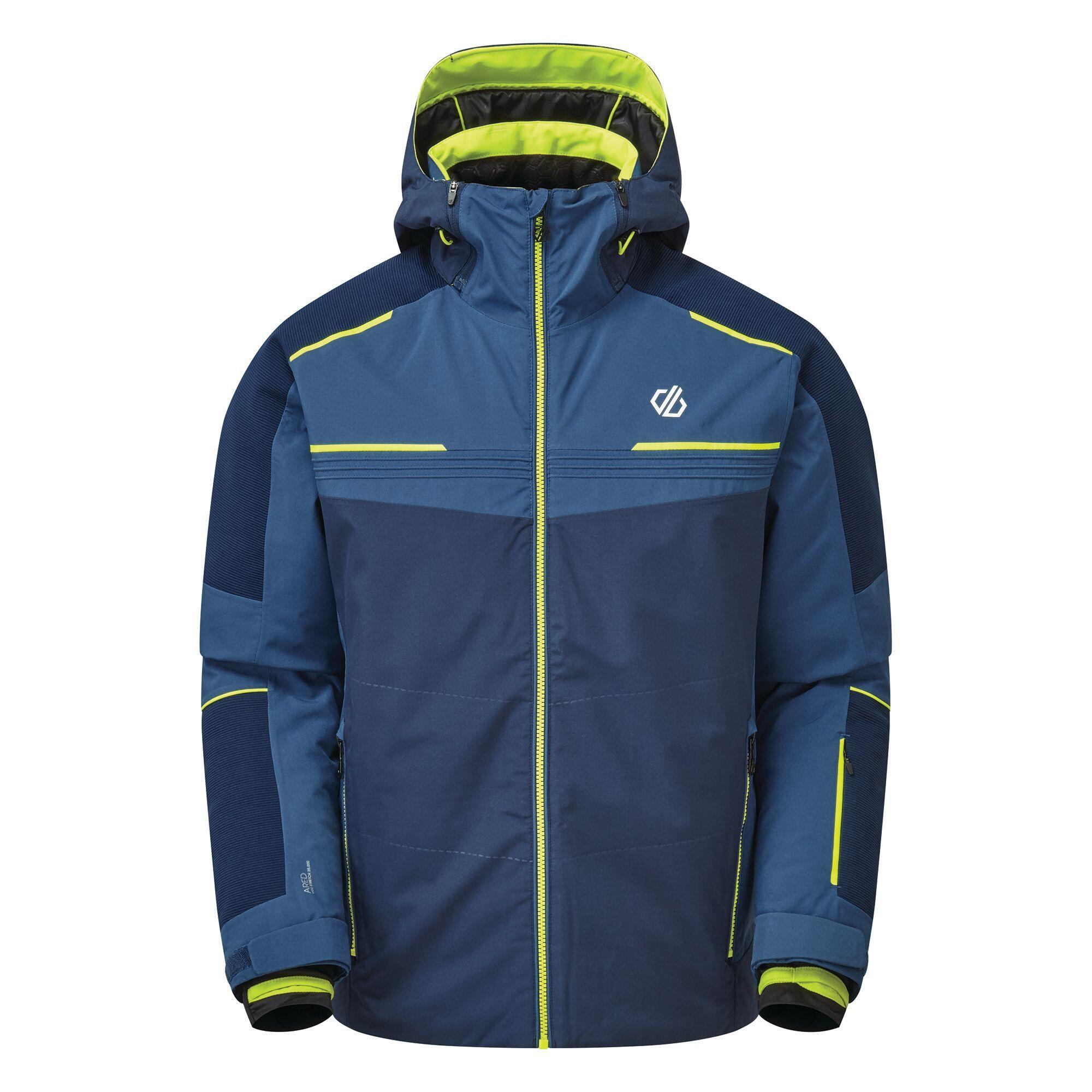 Regatta Mens Below Zero Insulated Ski Jacket (XS) (Nightfall Navy/Dark Denim)