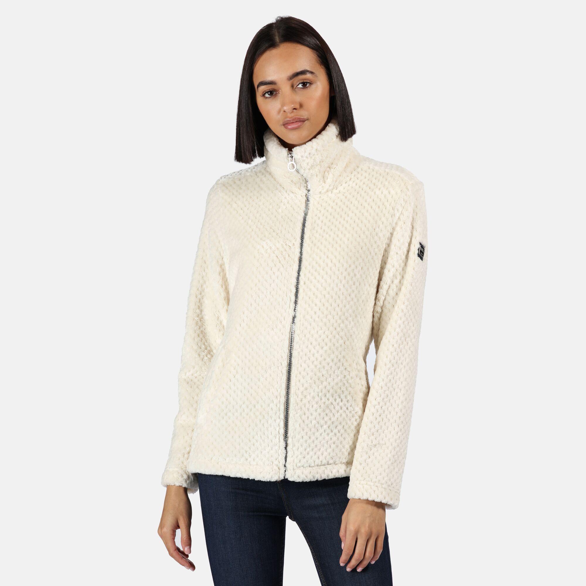 Regatta Womens//Ladies Hermilla Velour Full Zip Fleece RG5326