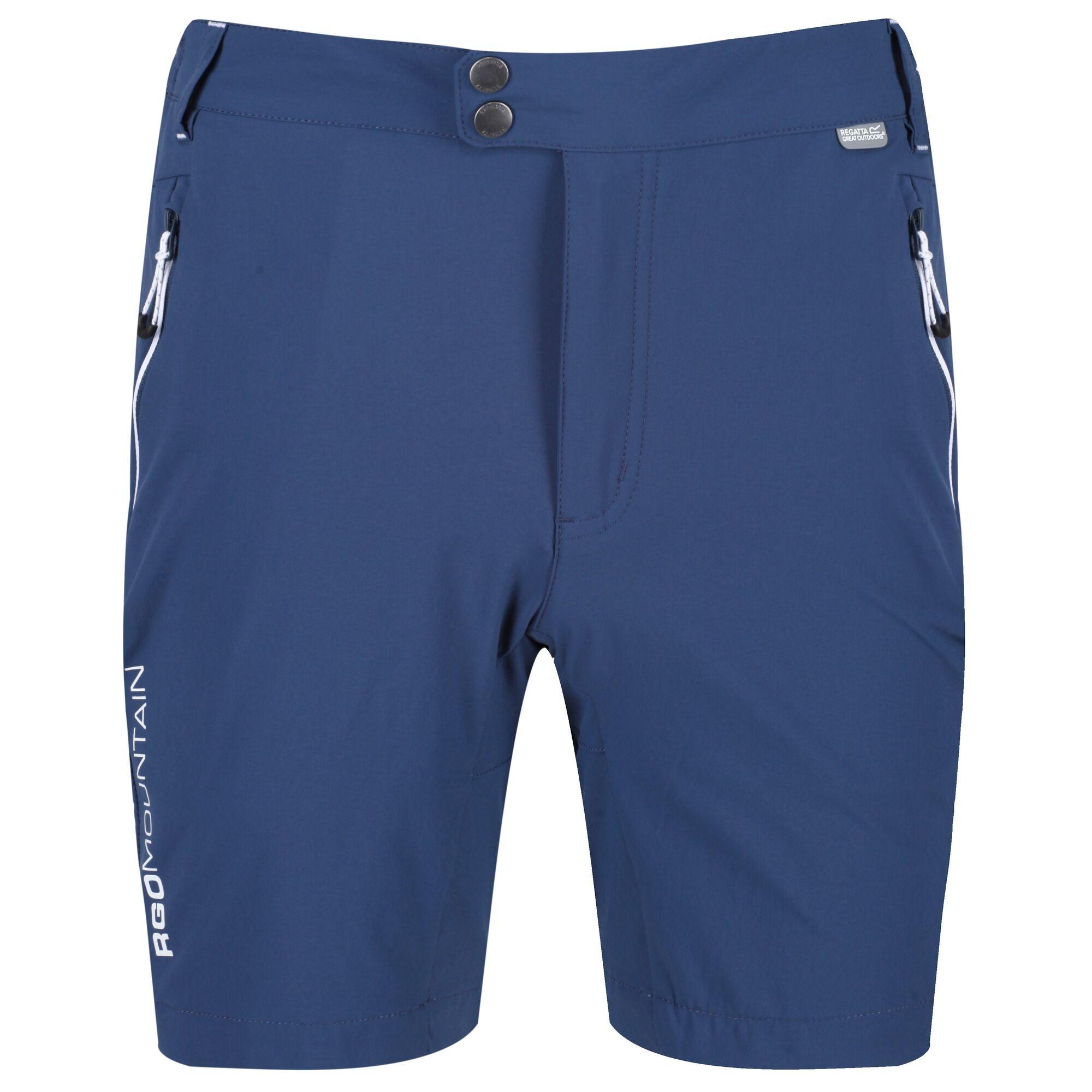 Regatta Mens Walking Shorts (32R) (Dark Denim)