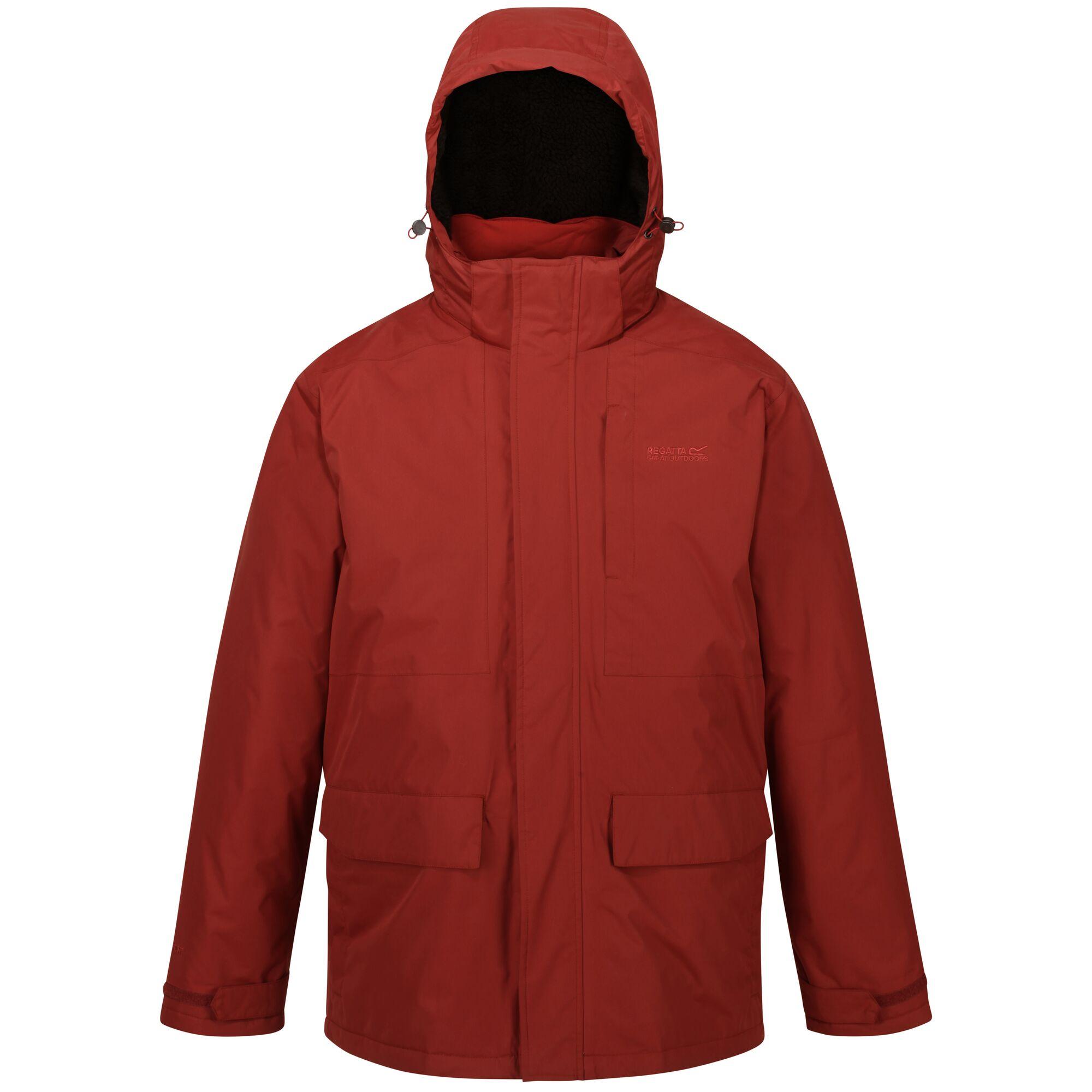 Regatta Mens Penryn Waterproof Jacket (M) (Spice Red)