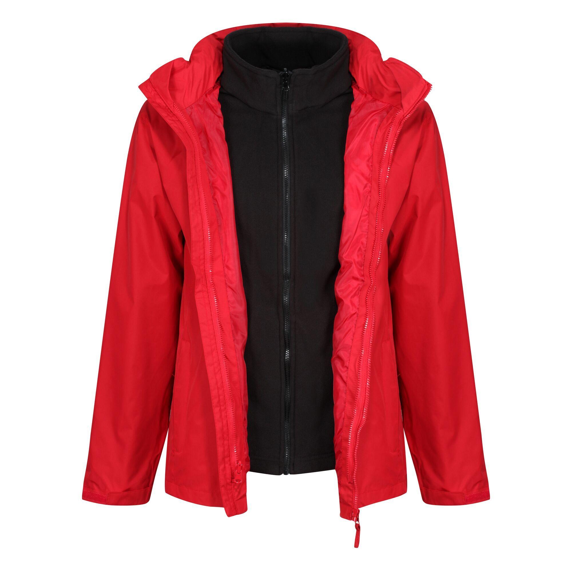 Regatta Mens Classic Waterproof Jacket (3XL) (Classic Red/Black)
