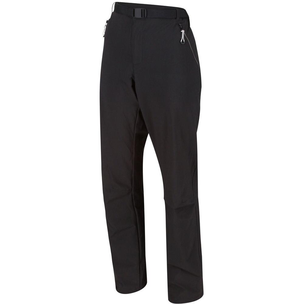Regatta Mens Xert III Stretch Trousers (44R) (Black)