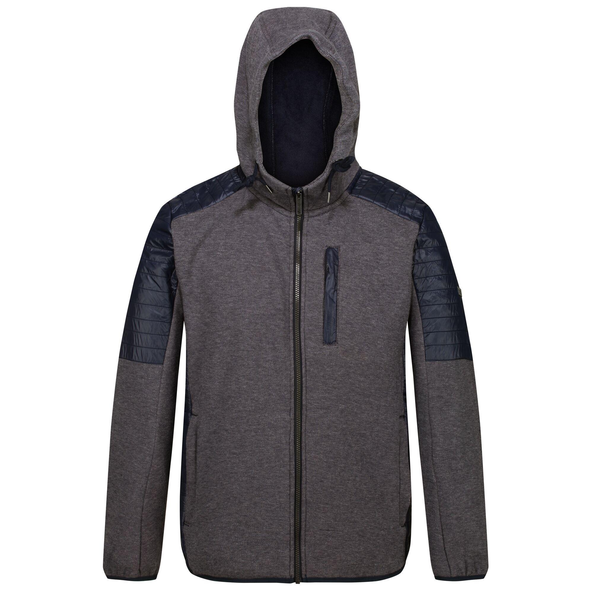 Regatta Mens Wilkin Fleece Jacket (XL) (Navy)