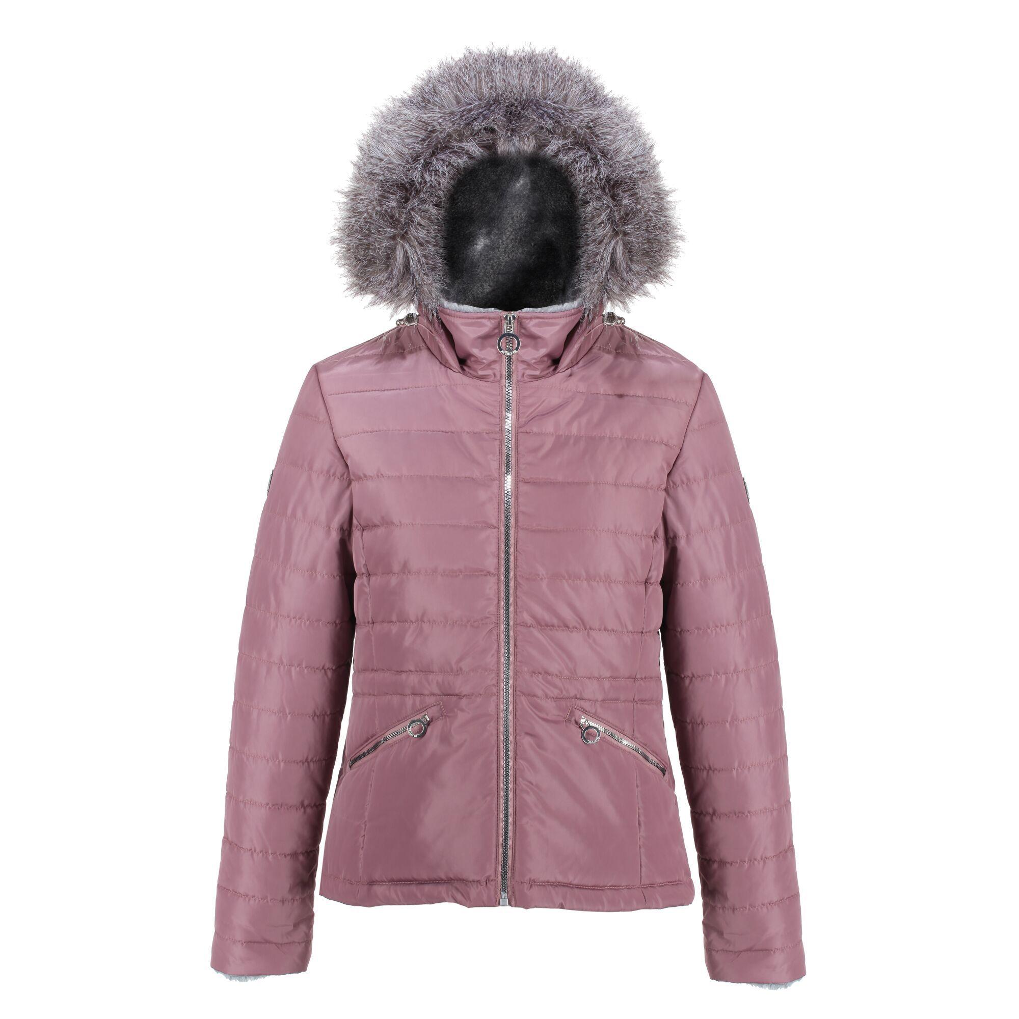 Regatta Womens/Ladies Westlynn Quilted Insulated Jacket (14 UK) (Dusky Heather)