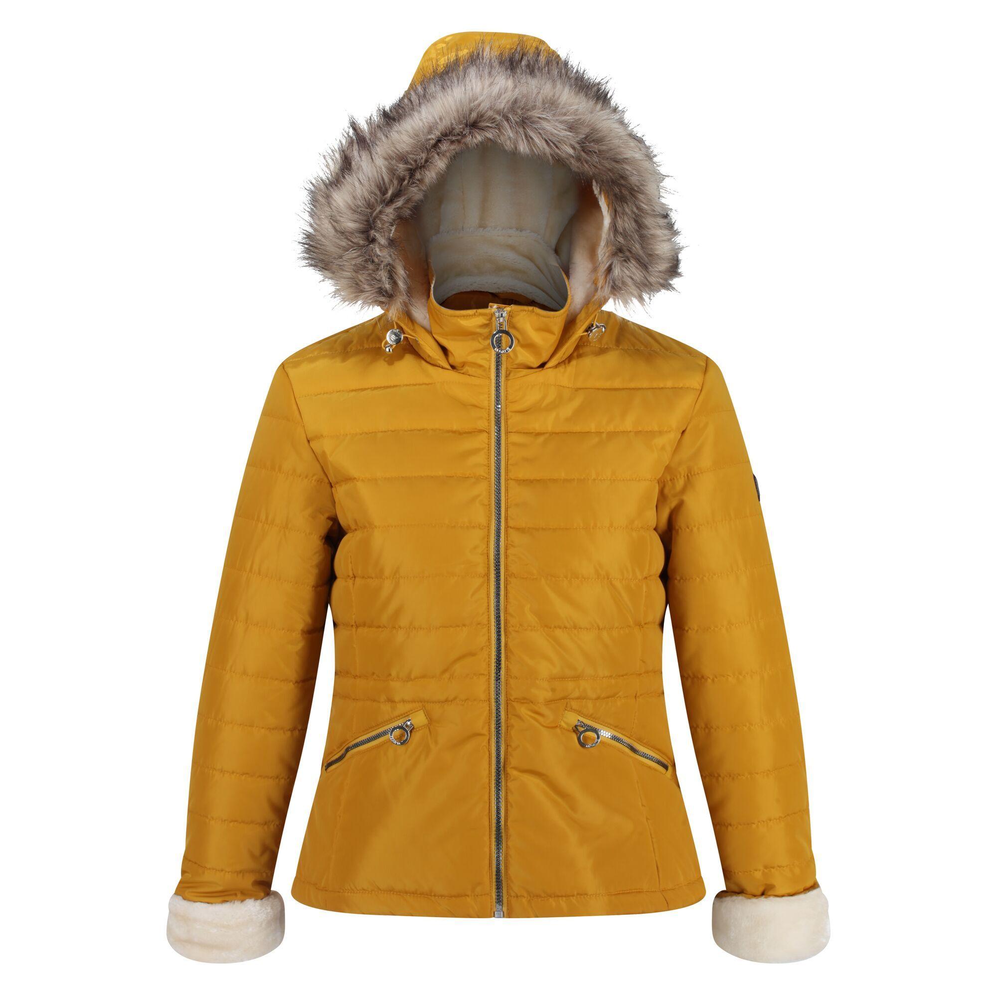 Regatta Womens/Ladies Westlynn Quilted Insulated Jacket (16 UK) (Mustard Seed)