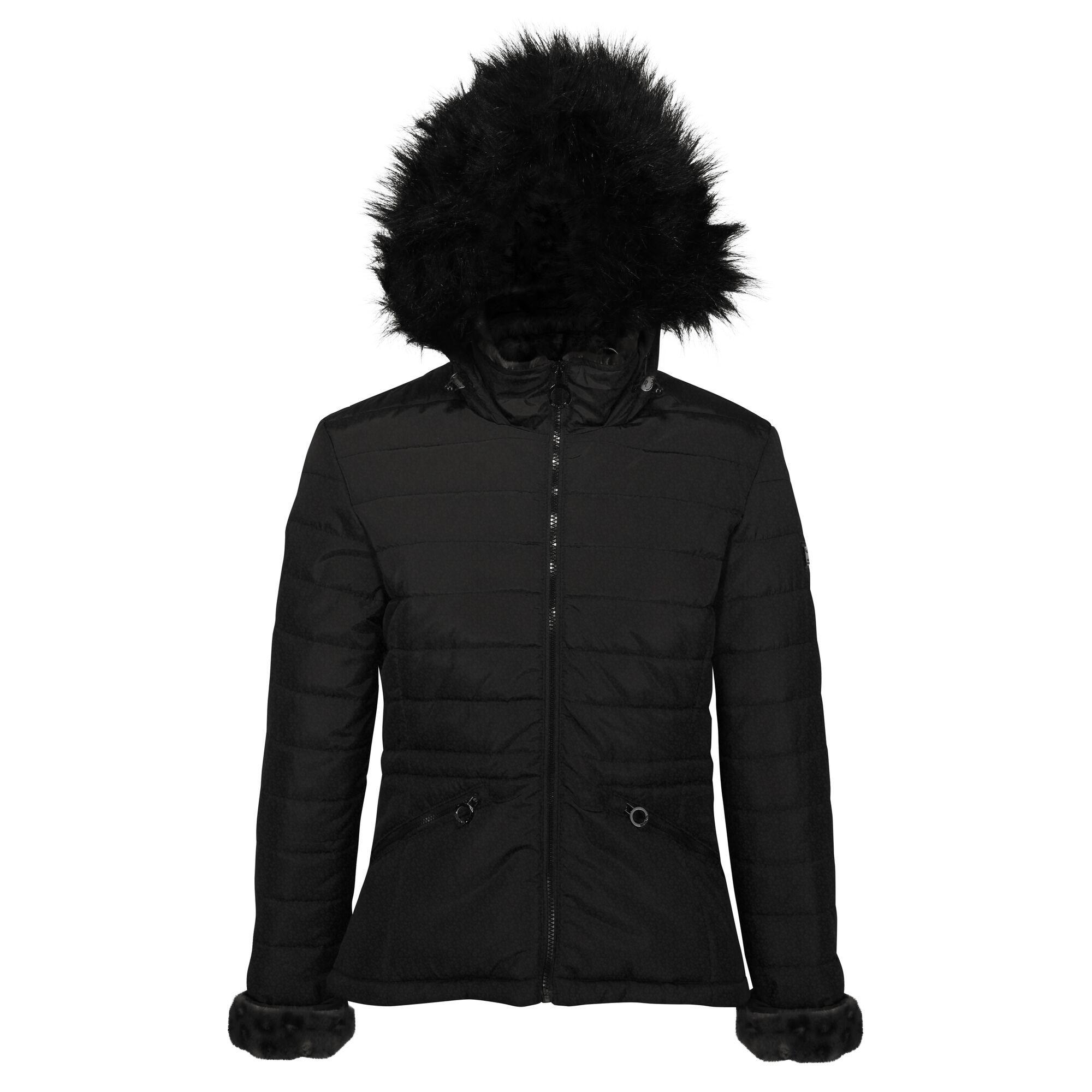 Regatta Womens/Ladies Westlynn Quilted Insulated Jacket (14 UK) (Black)