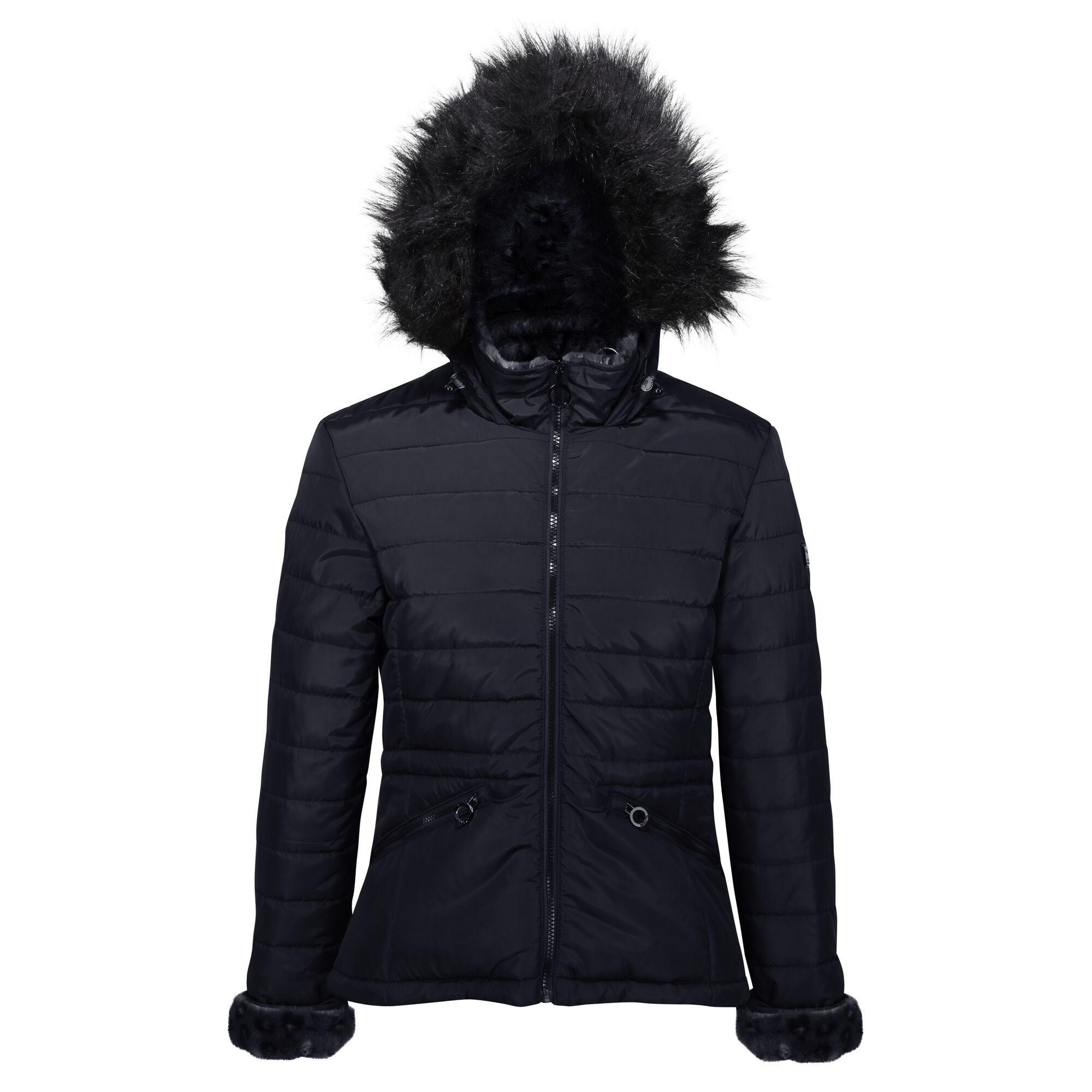 Regatta Womens/Ladies Westlynn Quilted Insulated Jacket (14 UK) (Navy)