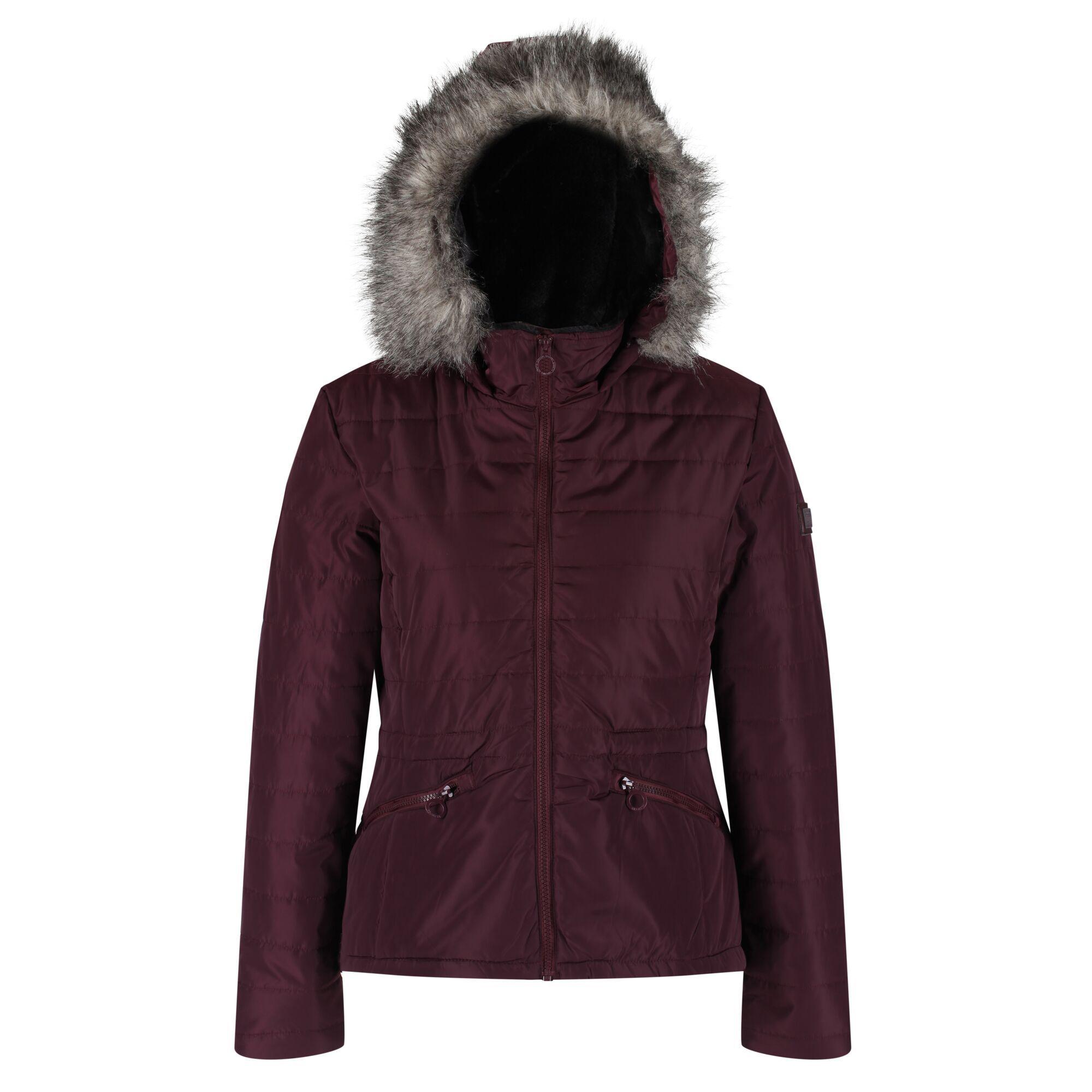 Regatta Womens/Ladies Westlynn Quilted Insulated Jacket (16 UK) (Dark Burgundy)