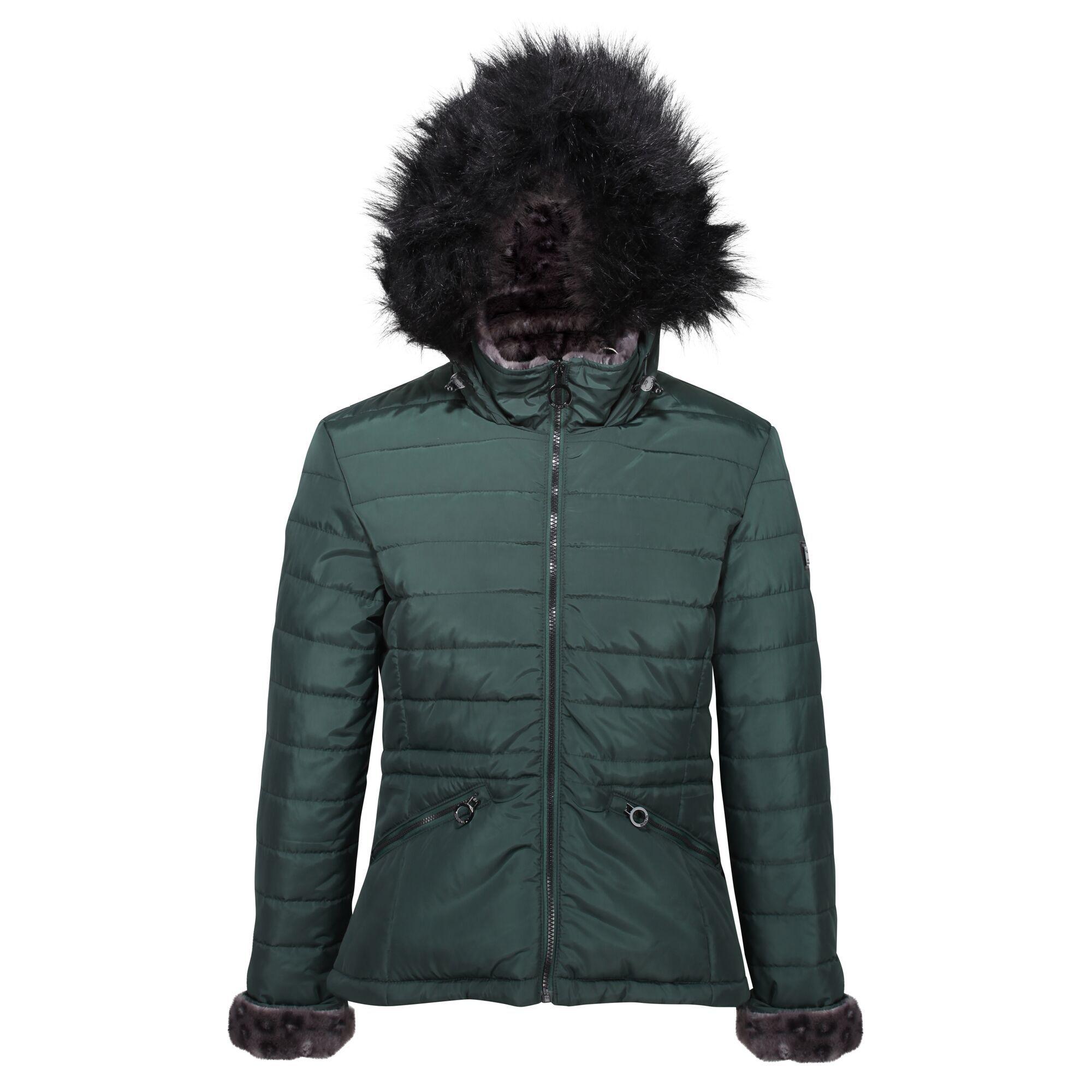 Regatta Womens/Ladies Westlynn Quilted Insulated Jacket (16 UK) (Darkest Spruce)