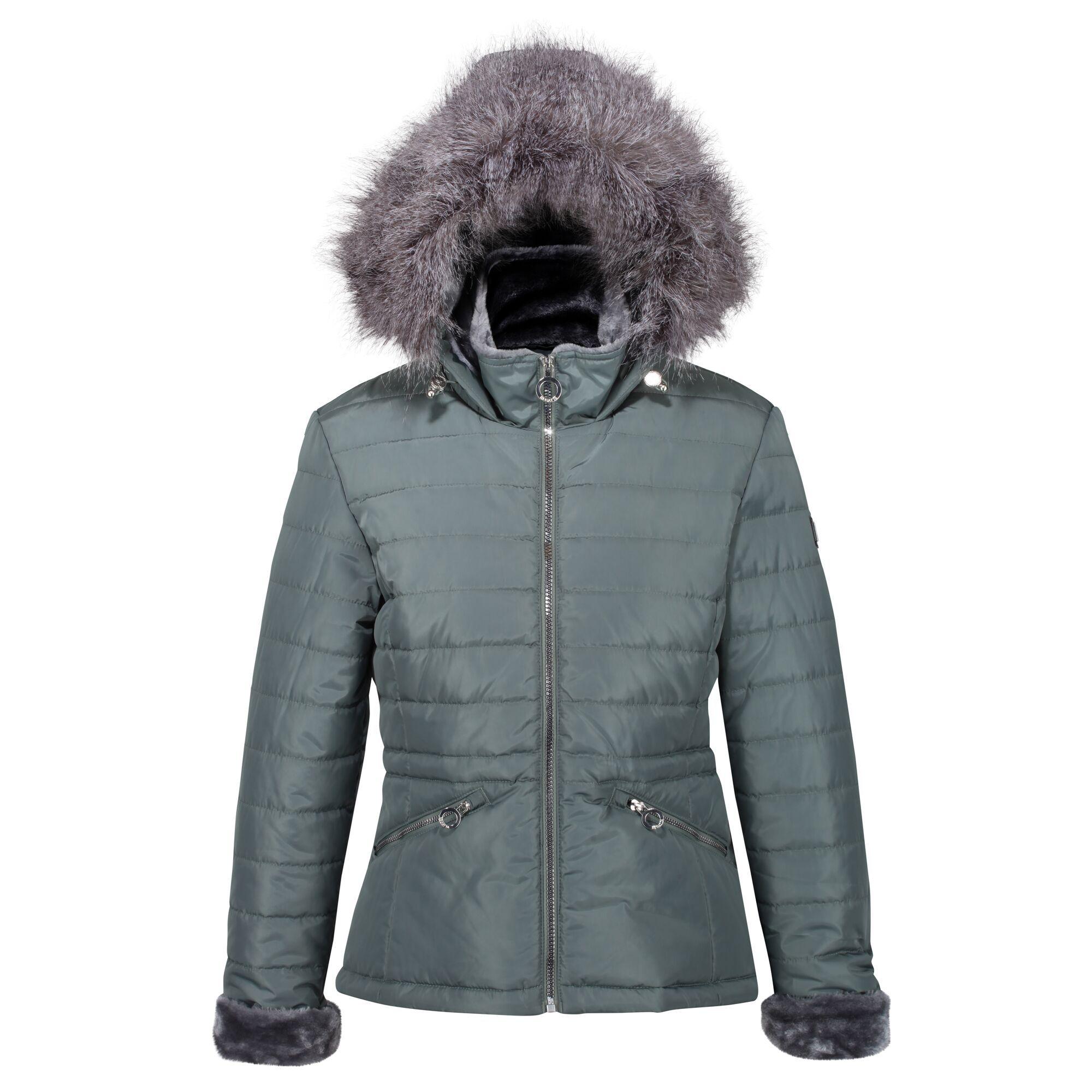 Regatta Womens/Ladies Westlynn Quilted Insulated Jacket (20 UK) (Balsam Green)