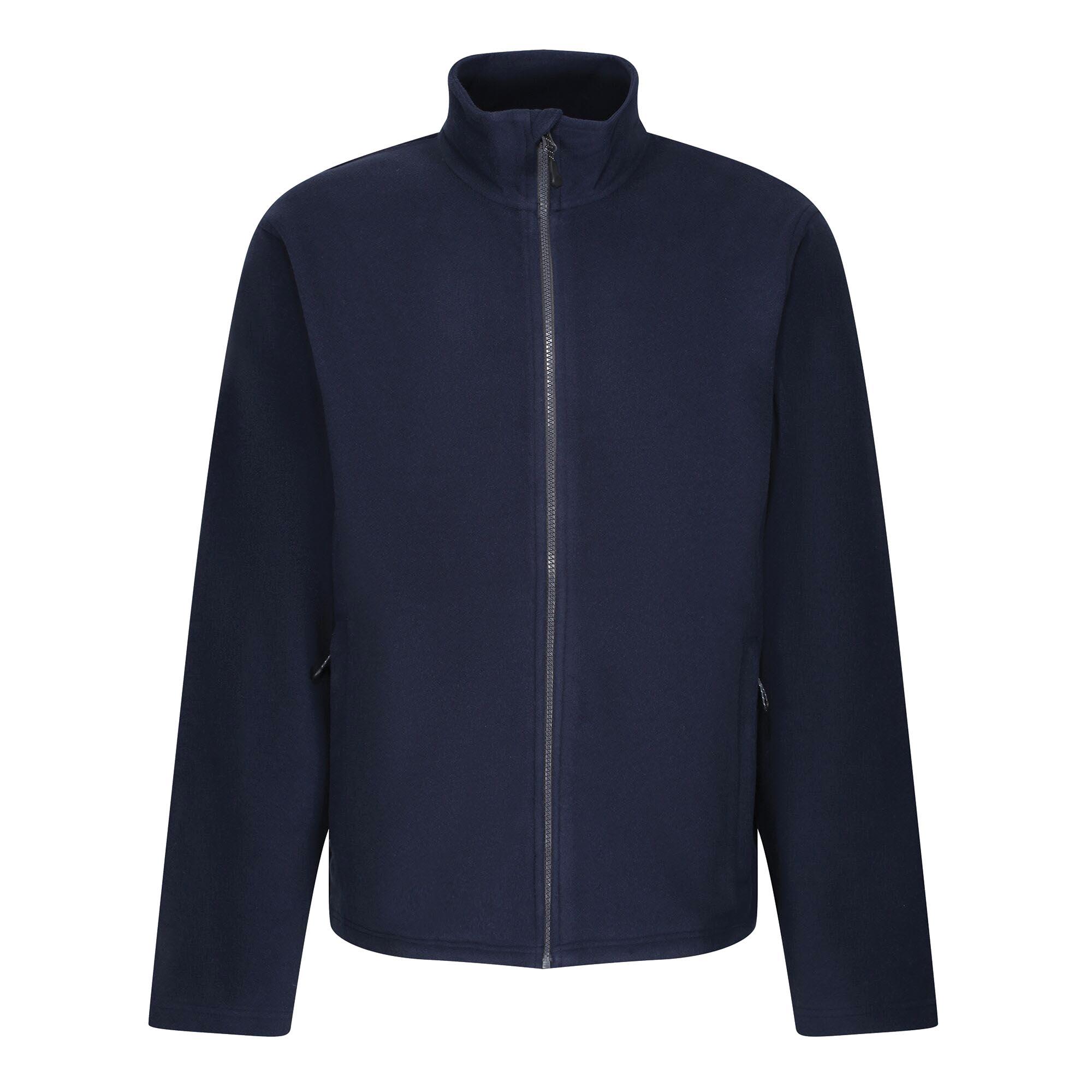 Regatta Mens Honestly Made Fleece Jacket (L) (Navy)