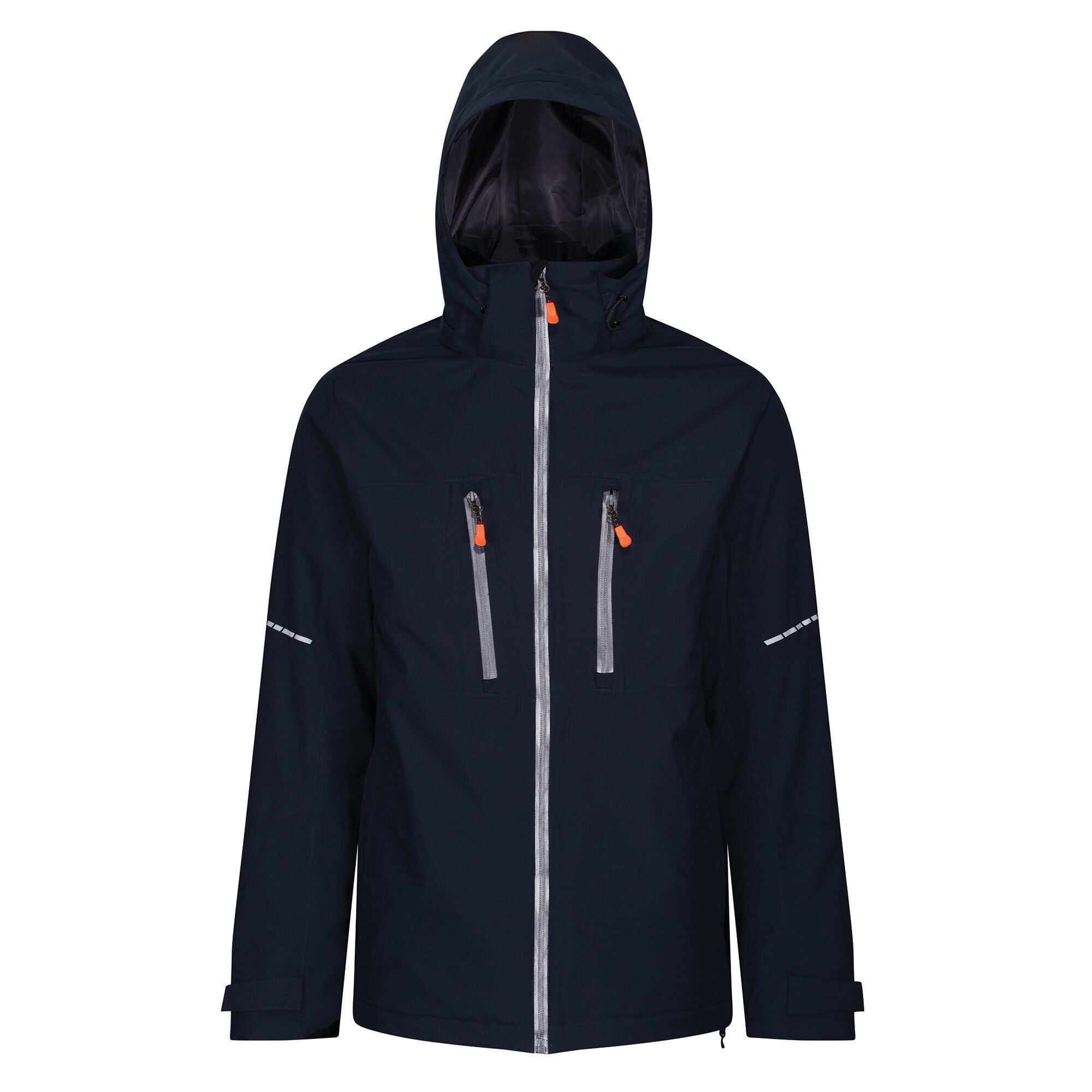 Regatta Mens X-Pro Marauder III Insulated Jacket (S) (Navy/Grey)