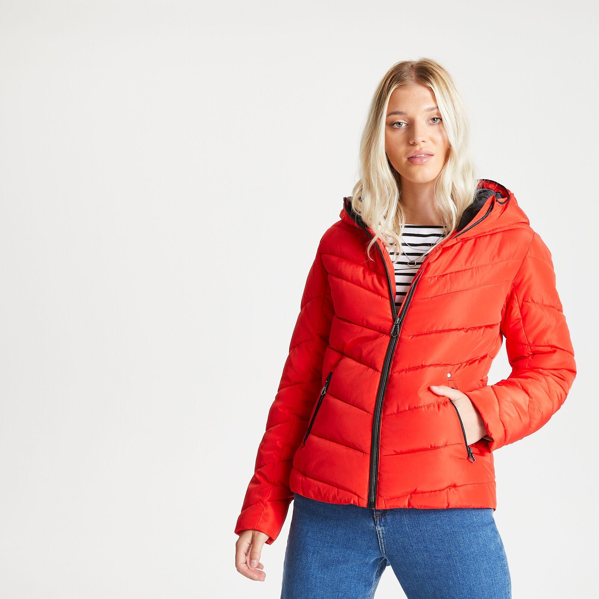 Dare 2B Womens/Ladies Reputable Swarovski Insulated Jacket (8 UK) (Seville Red)