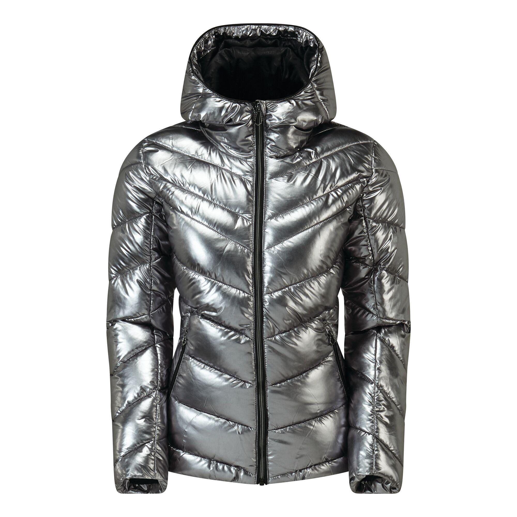 Dare 2B Womens/Ladies Reputable Swarovski Insulated Jacket (8 UK) (Chrome)