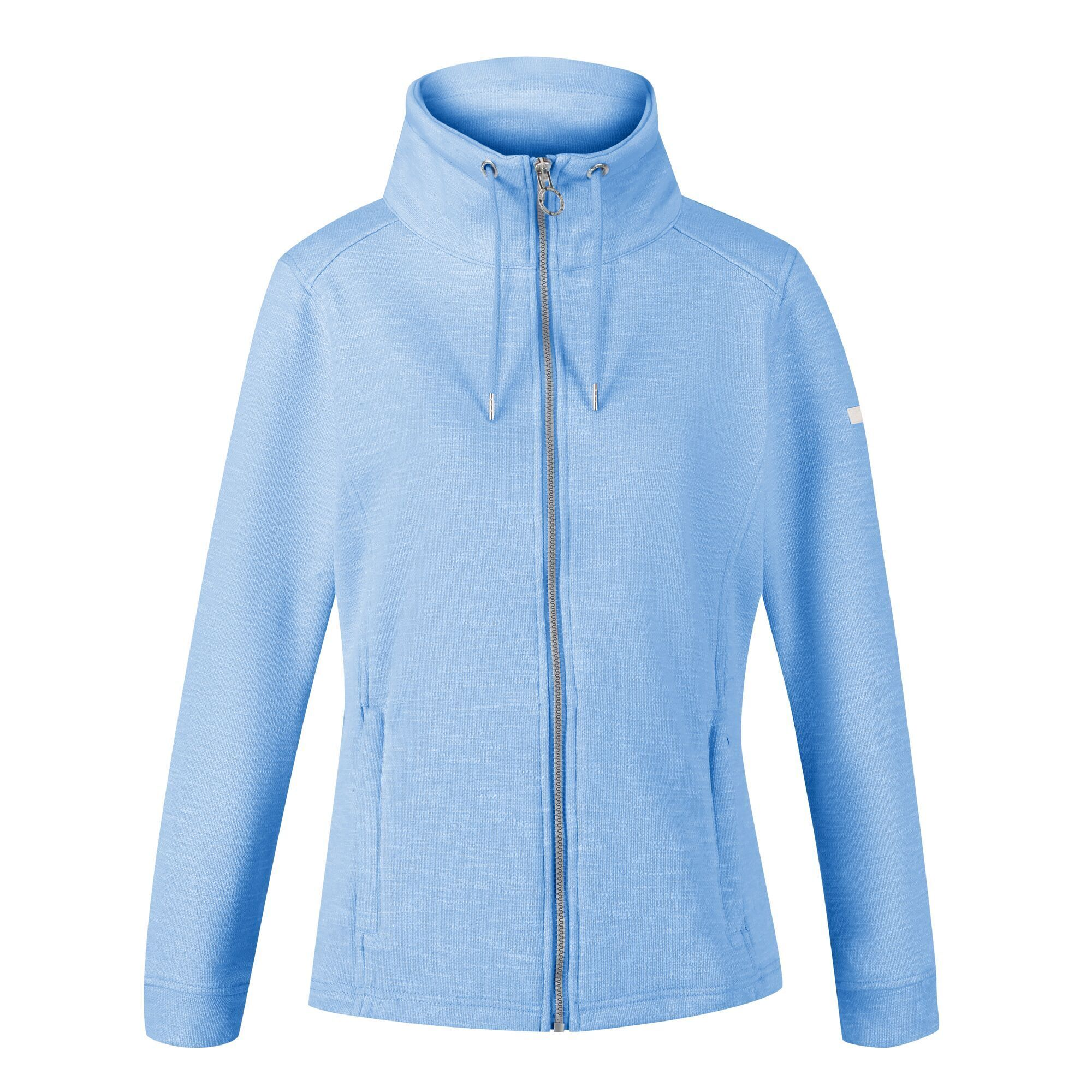 Regatta Womens/Ladies Olena Snood Collar Fleece Jacket (8 UK) (Sky Blue)