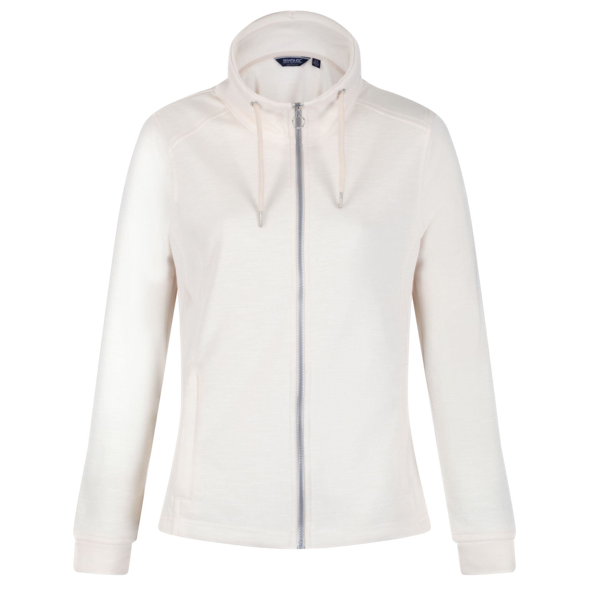 Regatta Womens/Ladies Olena Snood Collar Fleece Jacket (12 UK) (Light Vanilla)