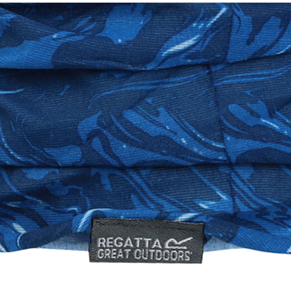Regatta Great Outdoors Kids Adventure Tech Kids Printed Multitube Scarf/Snood (One Size) (Coral Marble)