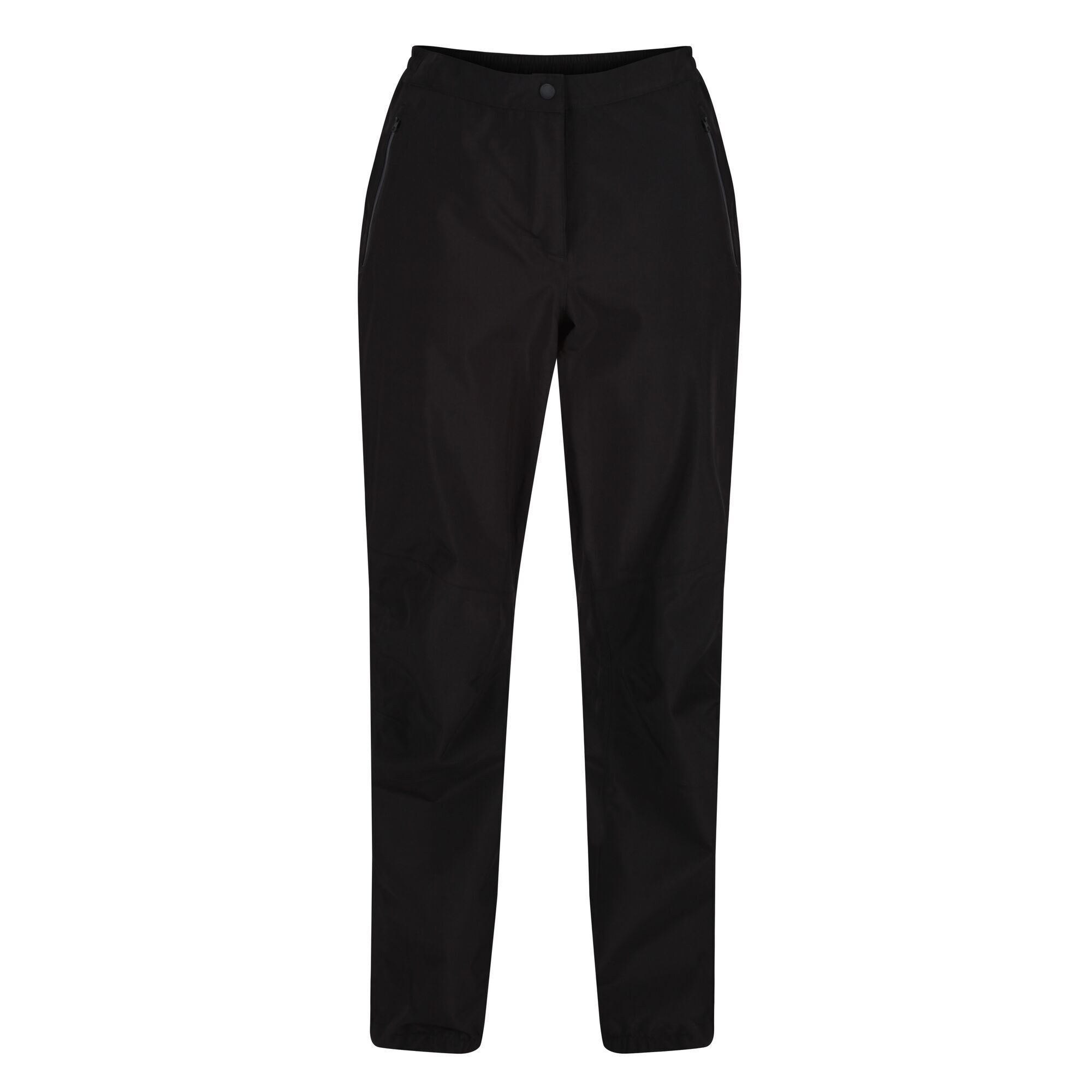 Regatta Womens/Ladies Highton Waterproof Over Trousers (S R) (Black)