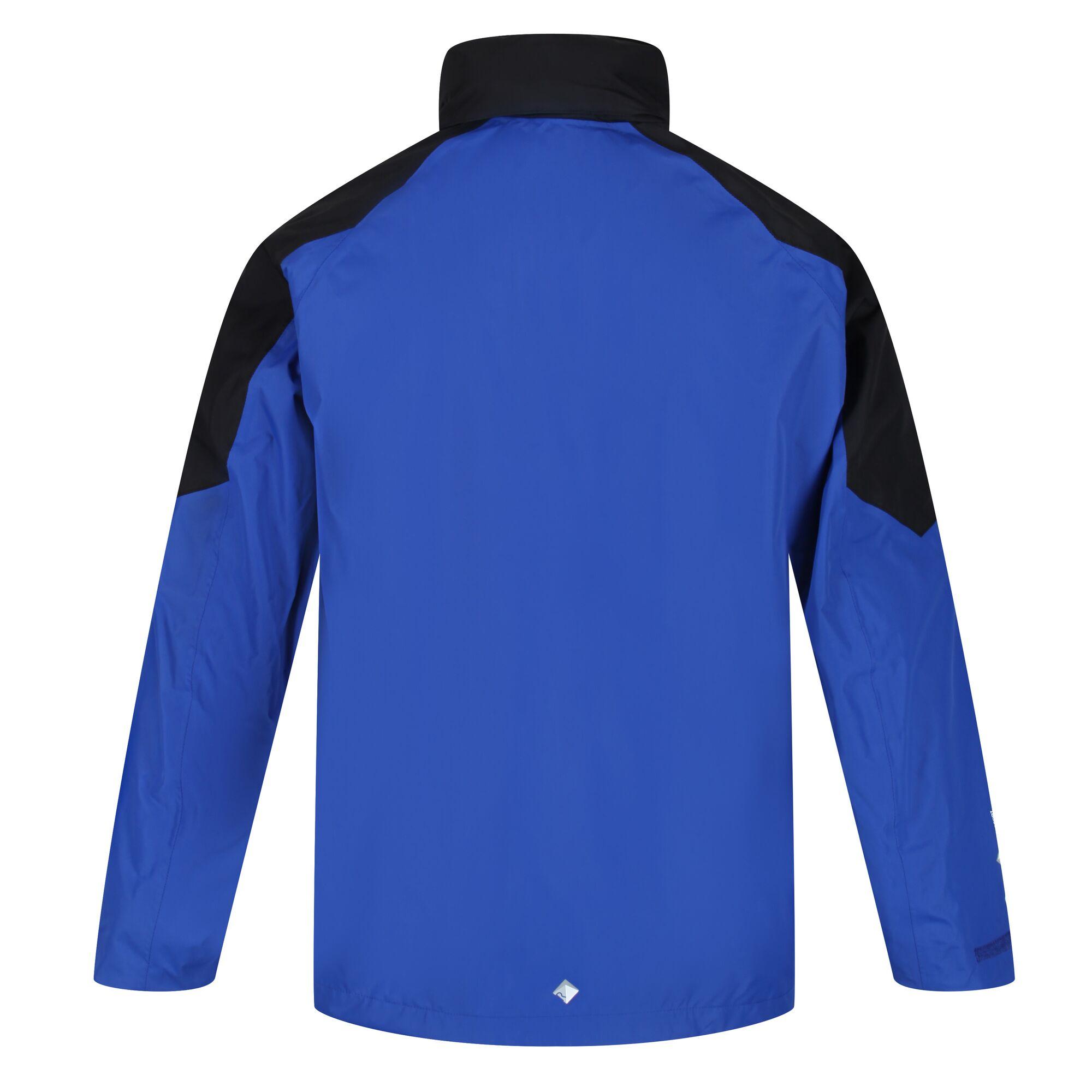 Regatta Mens Calderdale IV Waterproof Softshell Hooded Walking Jacket (XXL) (Nautical Blue/Dark Denim)