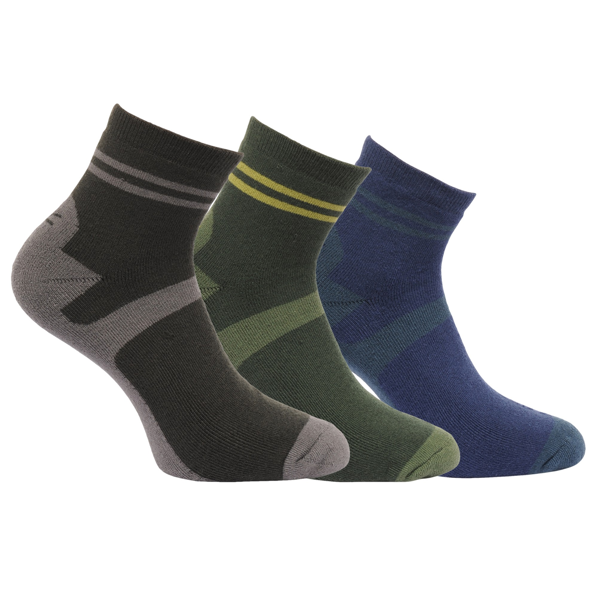 Regatta Great Outdoors Mens Cushioned Active Lifestyle Walking Socks Pack Of 2