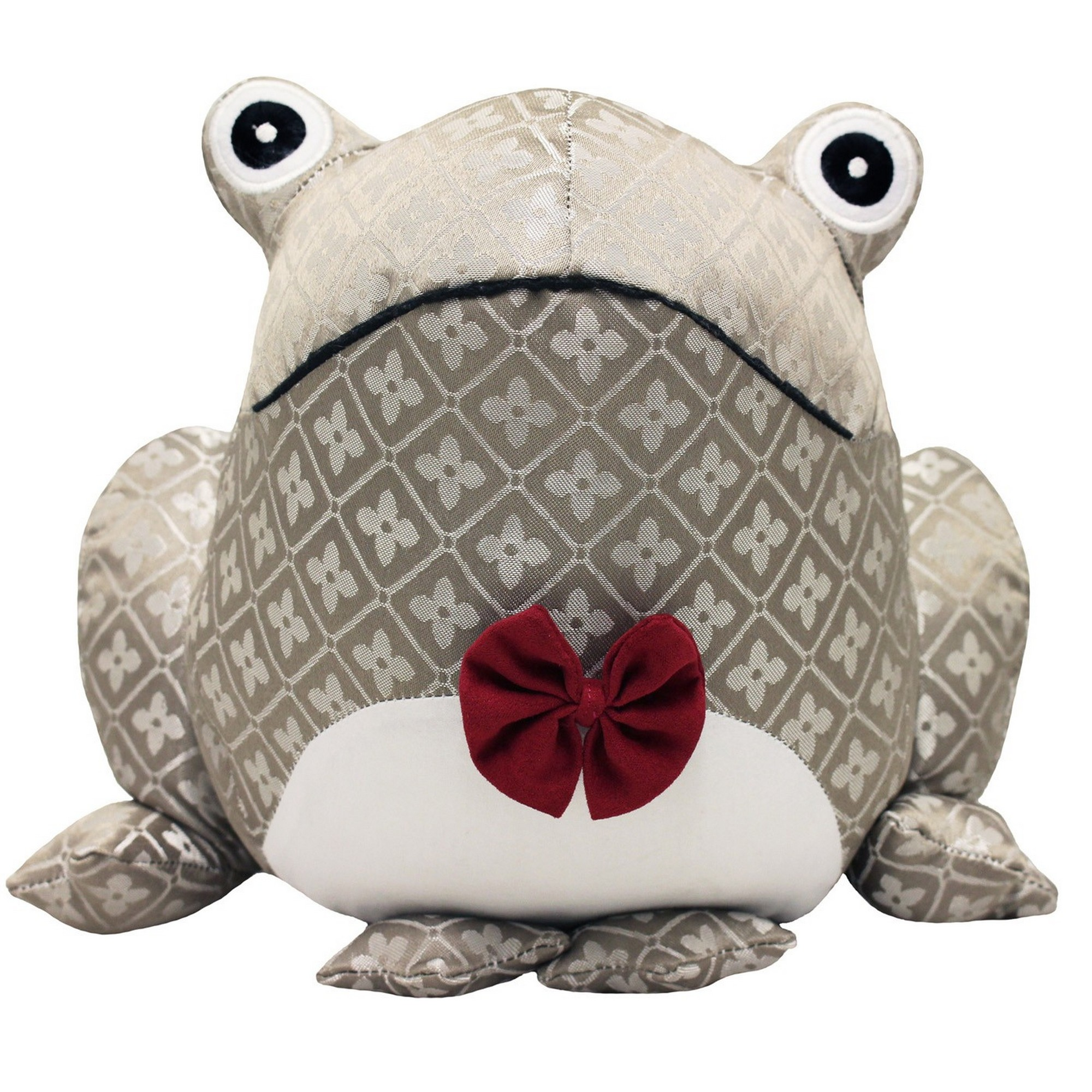 Riva Home Novelty Jaquard Frog Doorstop (One Size) (Multi)