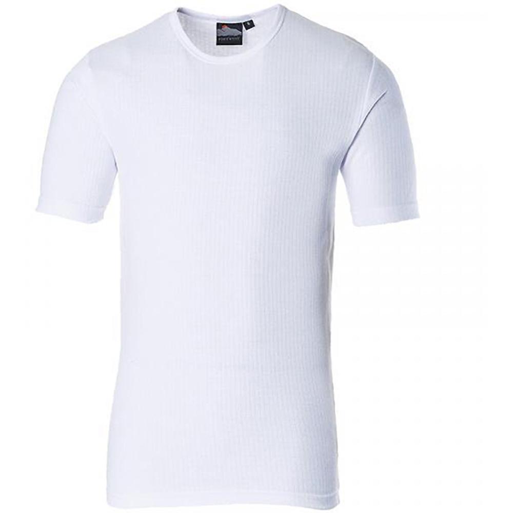 Portwest-B120-T-shirt-thermique-a-manches-courtes-Homme-RW1015 miniature 3