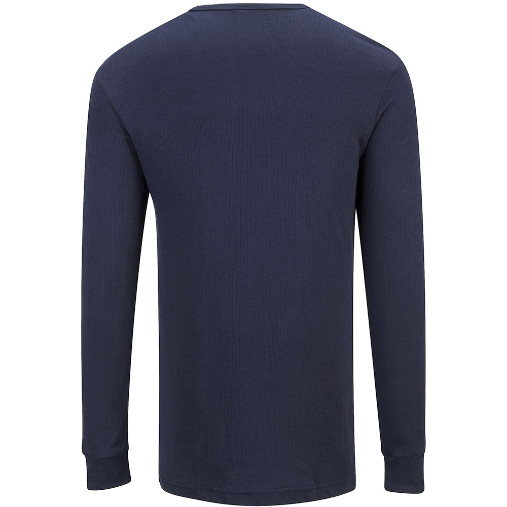 Portwest Mens Thermal Underwear Long Sleeved T-Shirt (B123) (L) (White)
