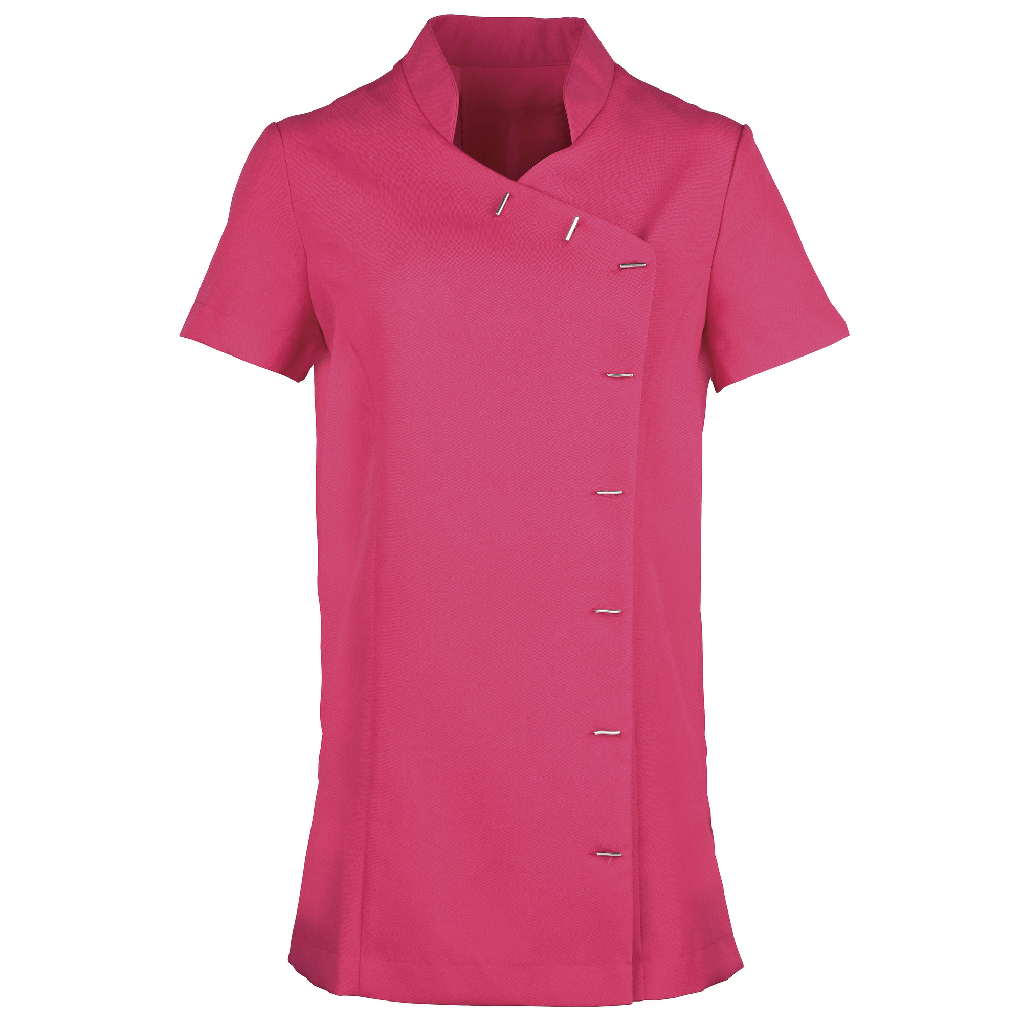 Premier Womens/Ladies *Orchid* Tunic / Health Beauty & Spa / Workwear (12) (Hot Pink)