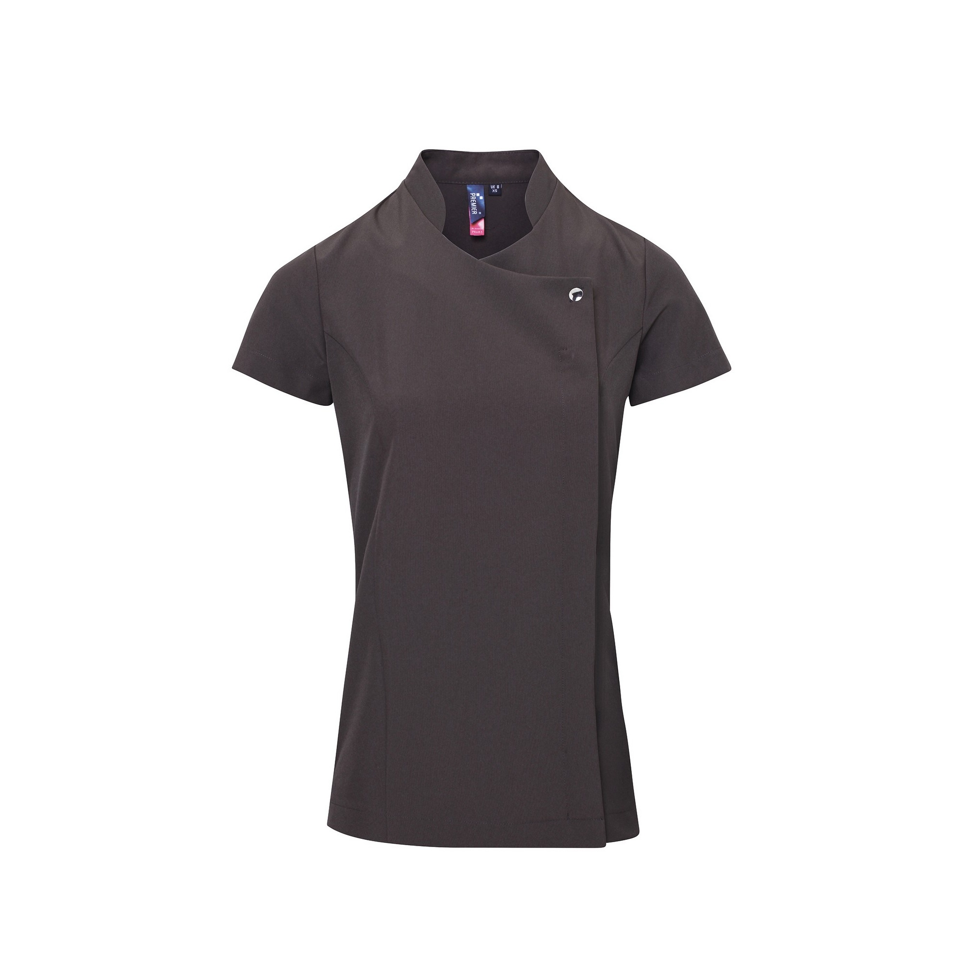 Premier Ladies/Womens *Blossom* Tunic / Health Beauty & Spa / Workwear (16) (Dark Grey)