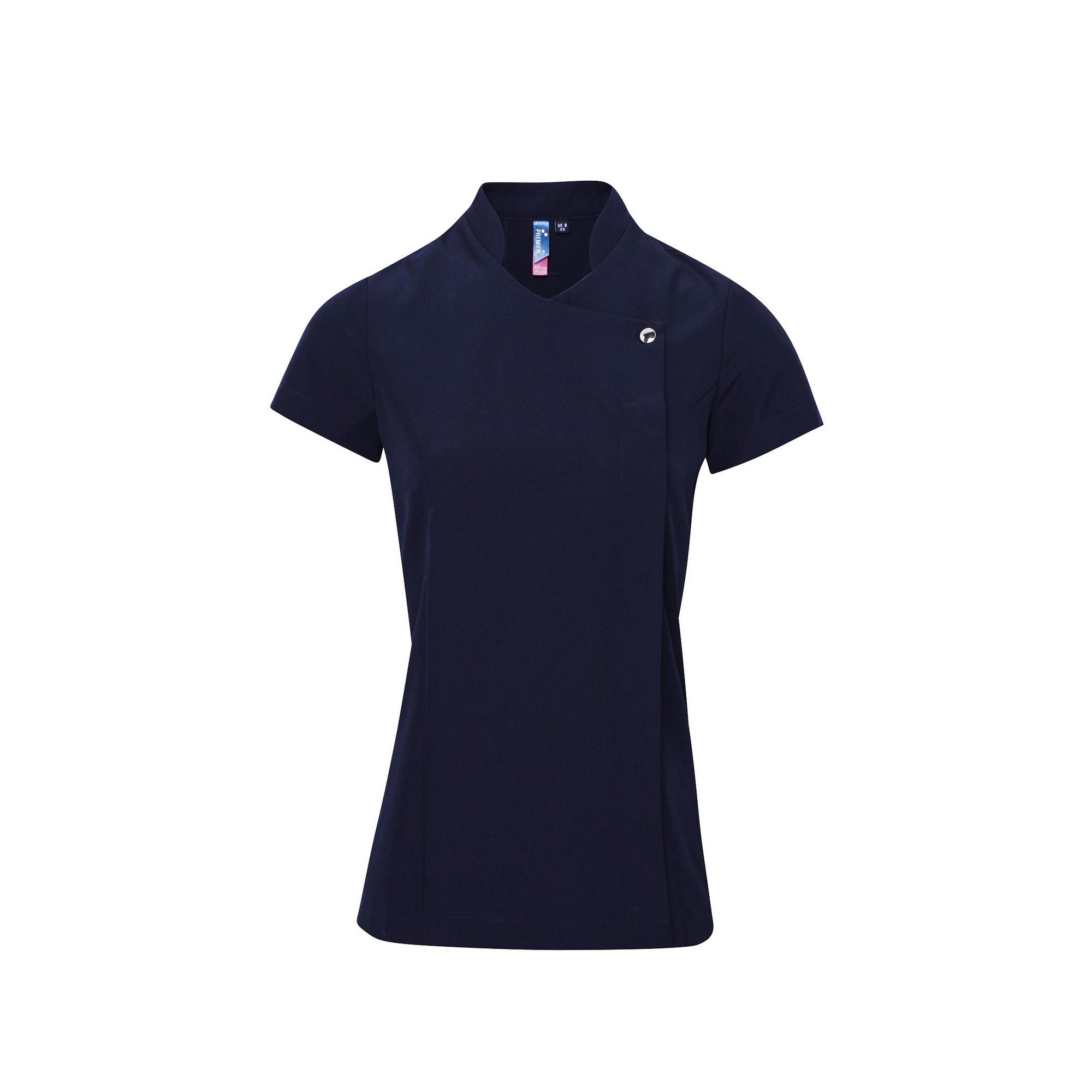 Premier Ladies/Womens *Blossom* Tunic / Health Beauty & Spa / Workwear (16) (Navy)