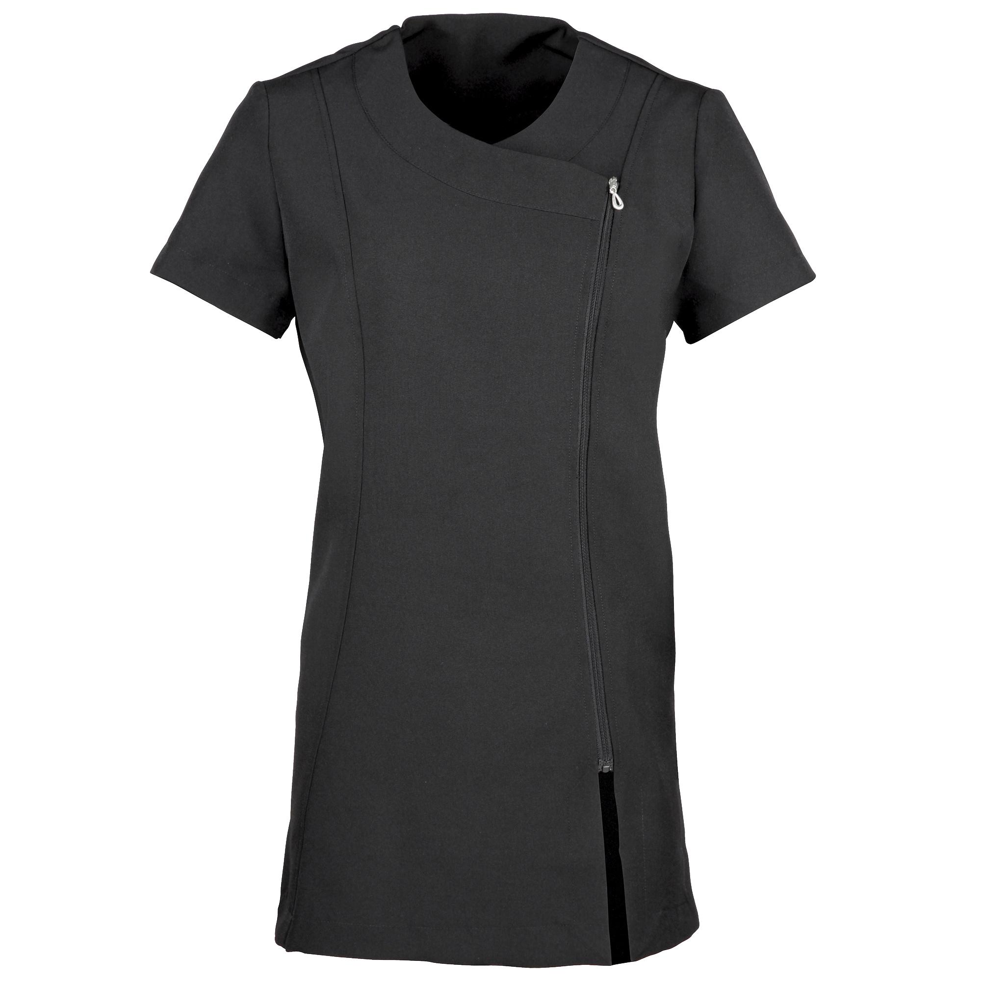 Premier Ladies/Womens *Camellia* Tunic / Health Beauty & Spa / Workwear (12) (Black)