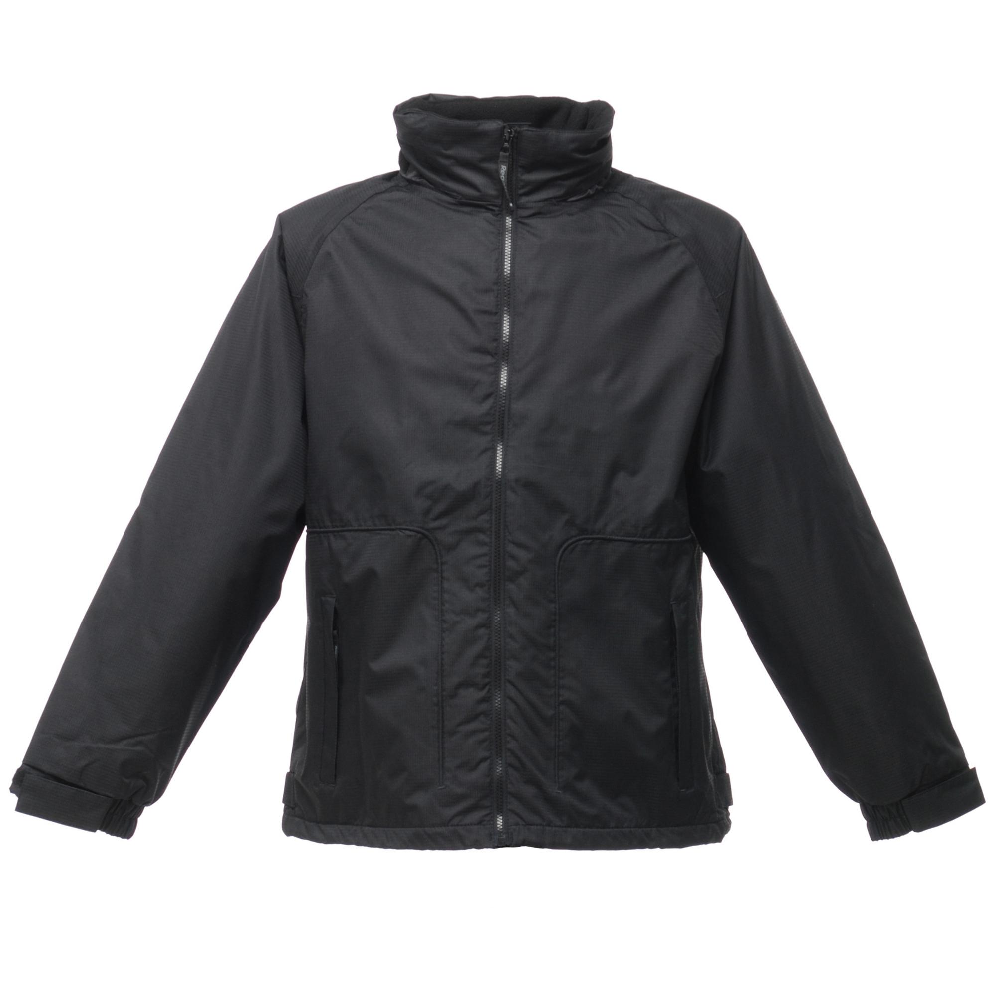 Regatta Mens Waterproof Windproof Jacket (Fleece Lined) (S) (Black)