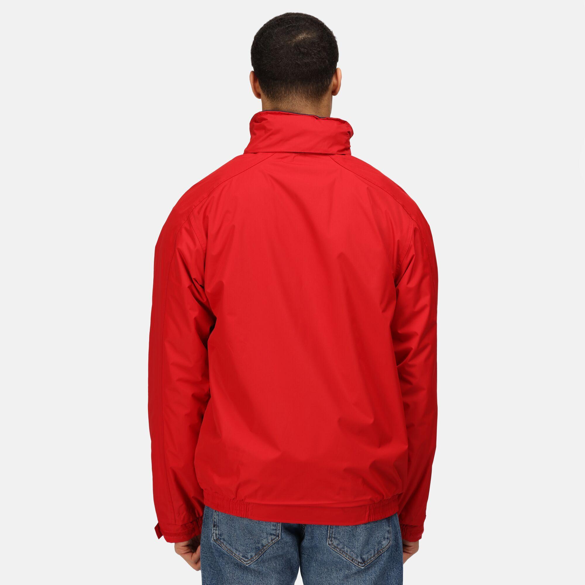 Regatta Mens Dover Waterproof Windproof Jacket (XS) (Key Lime/ Seal)