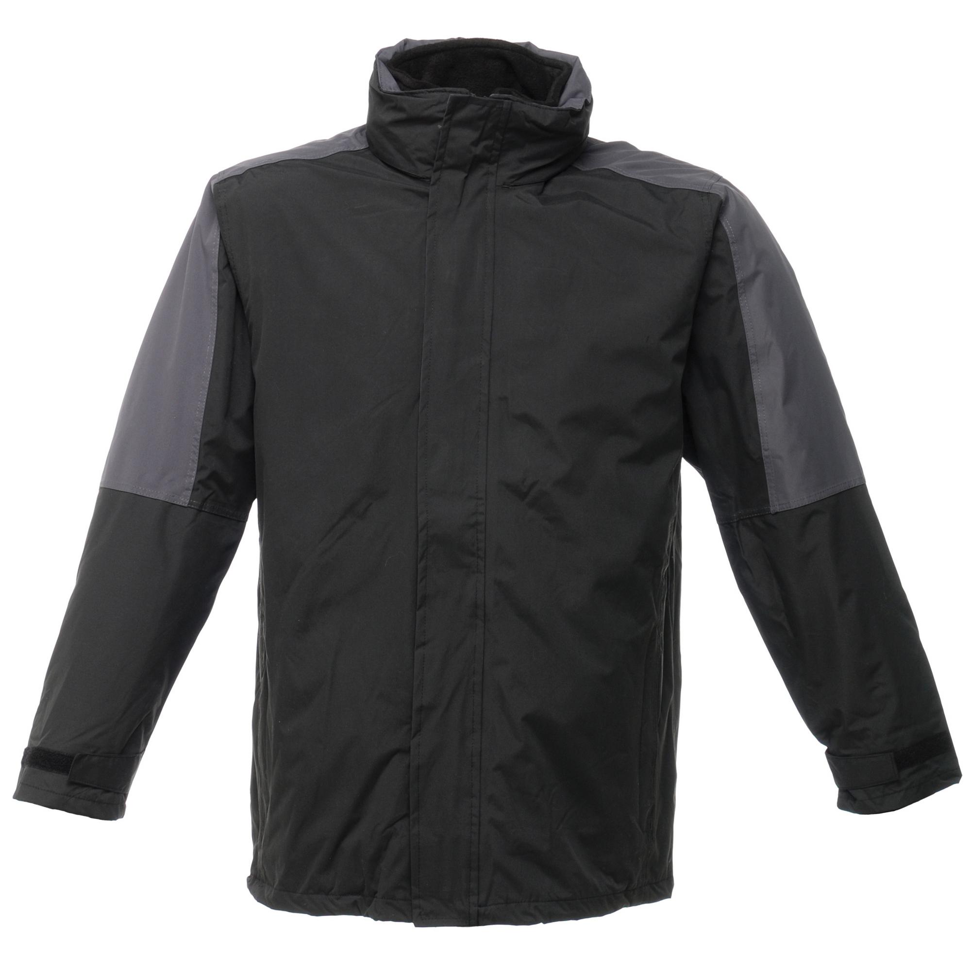 Regatta Mens Defender III 3-In-1 Jacket (Waterproof & Windproof) (M) (Black/Seal Grey)