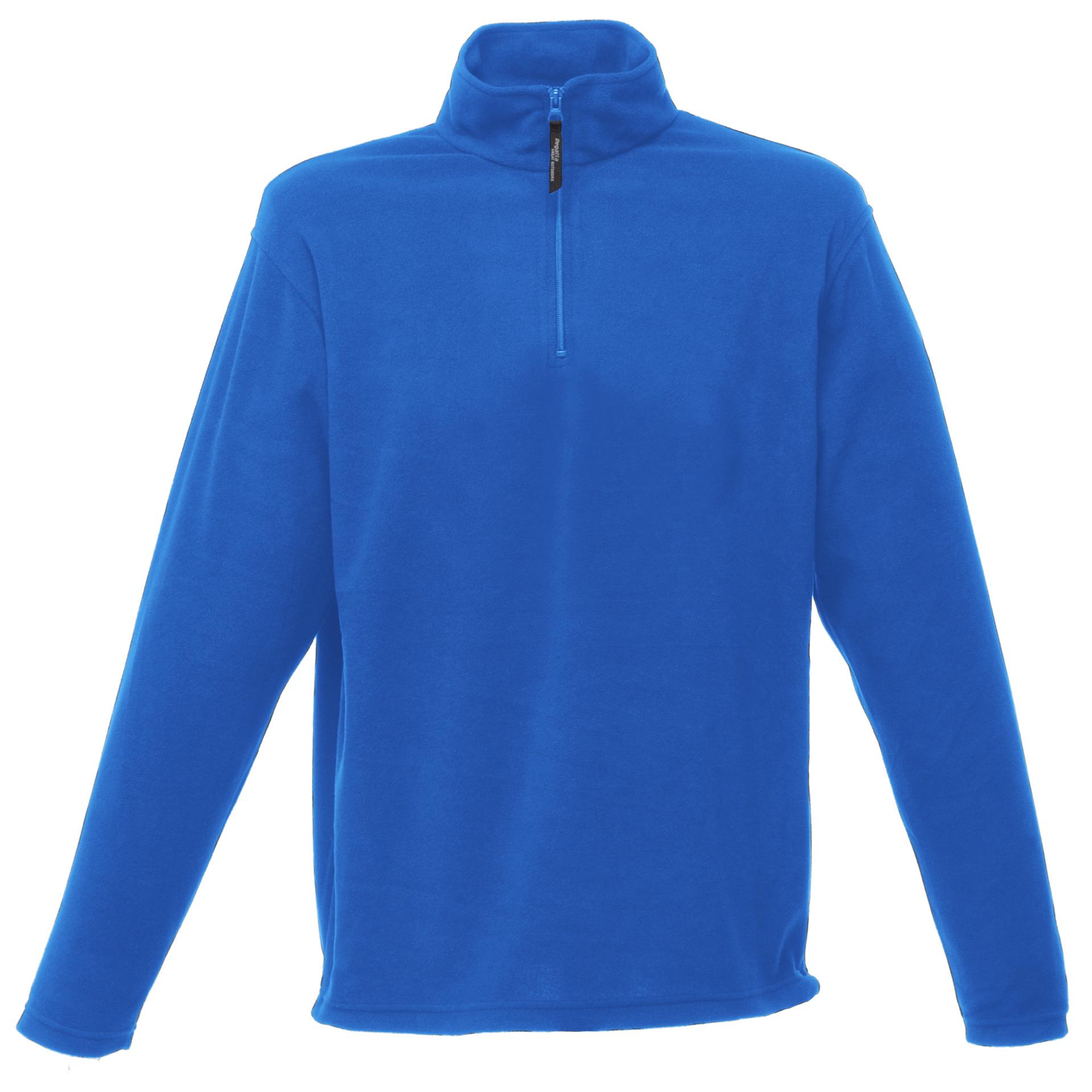 Regatta Mens 170 Series Anti-pill Zip Neck Micro Fleece Jacket (M) (Royal Blue)