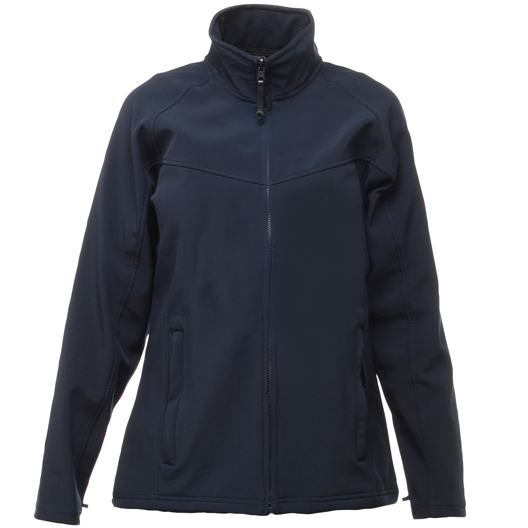 Regatta Womens/Ladies Uproar Softshell Jacket (Water Repellent & Wind Resistant) (12) (Navy/Navy)